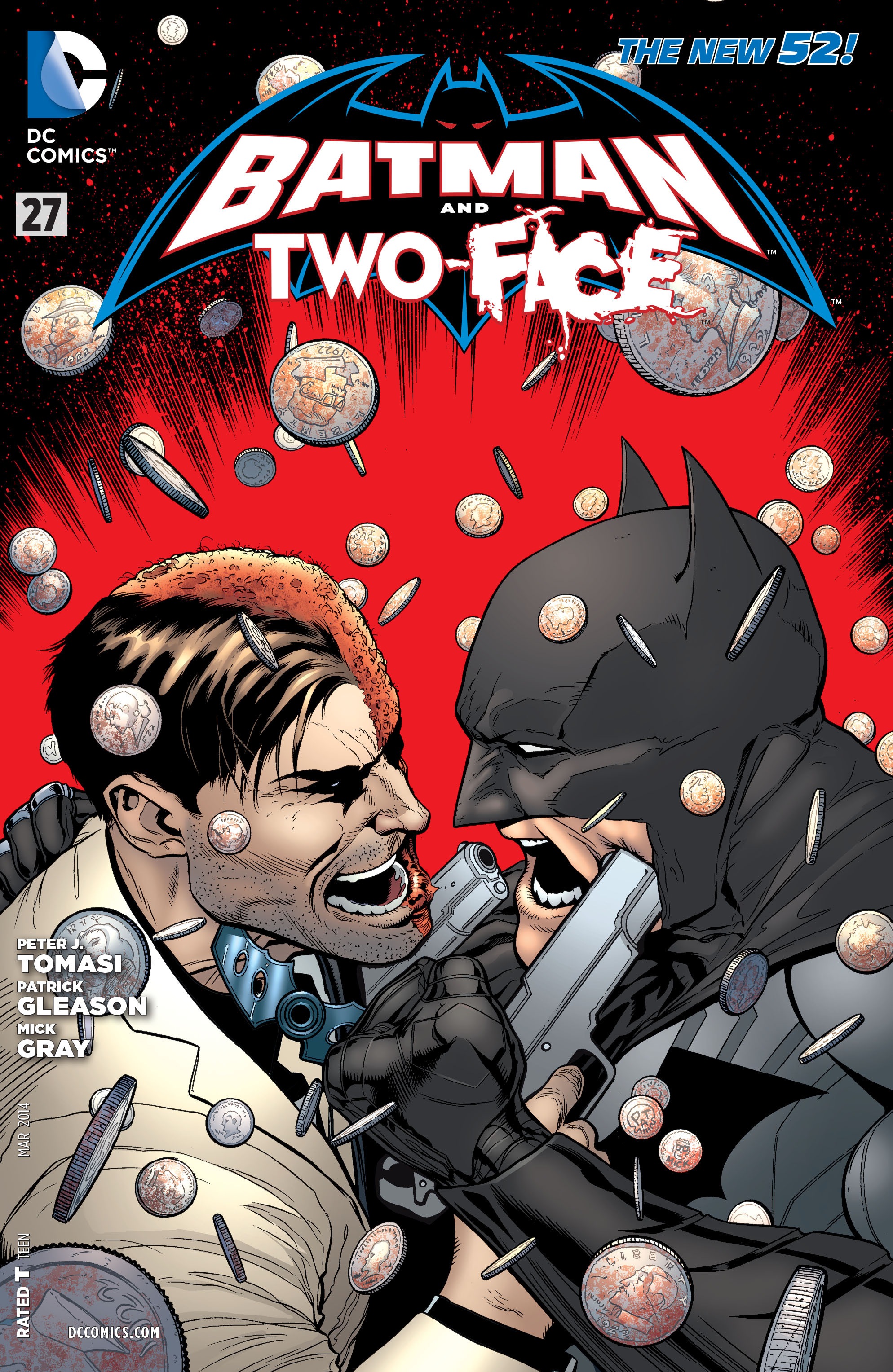 Read online Batman and Robin (2011) comic -  Issue #27 - Batman and Two-Face - 1