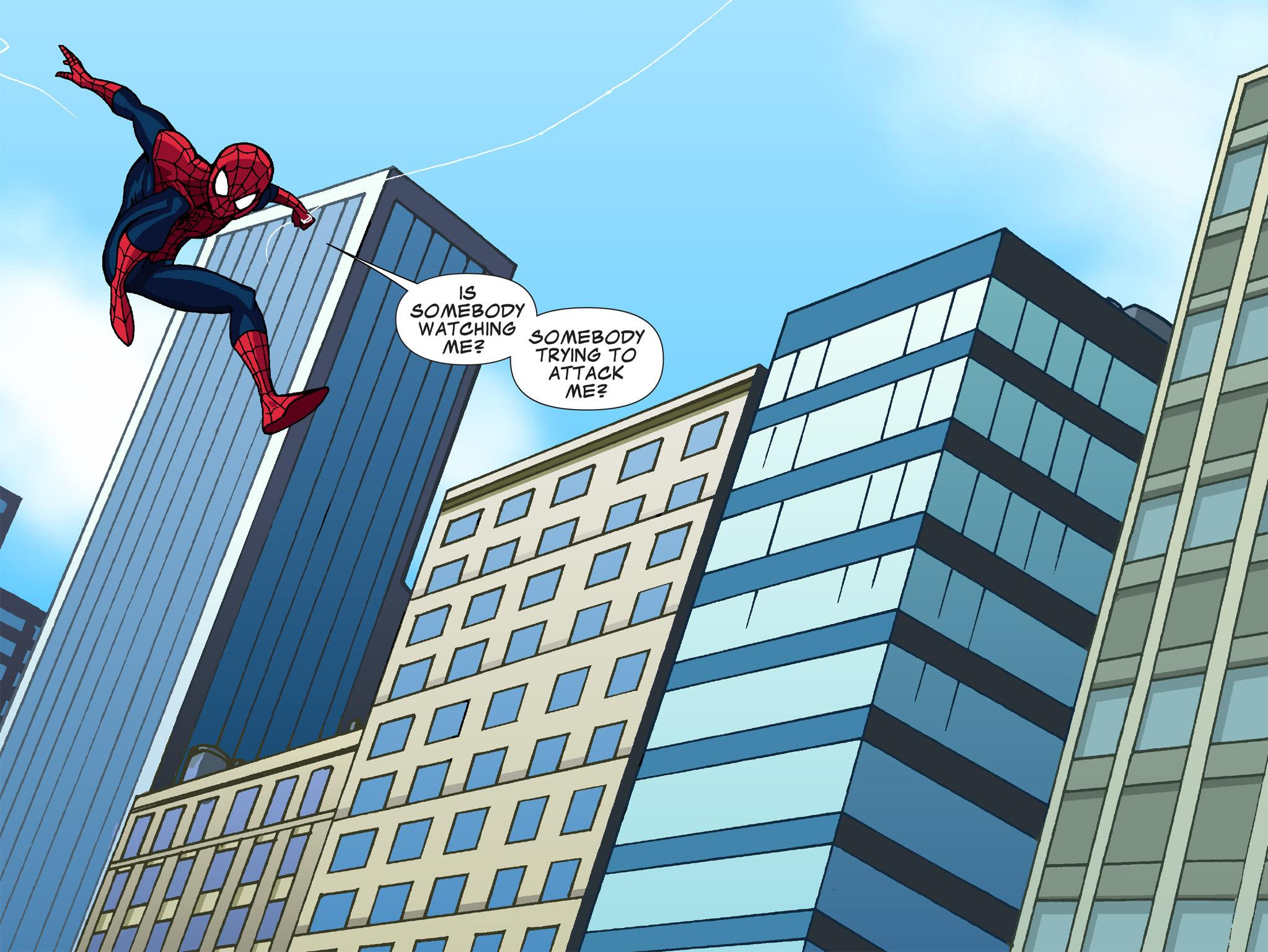 Read online Ultimate Spider-Man (Infinite Comics) (2015) comic -  Issue #1 - 25