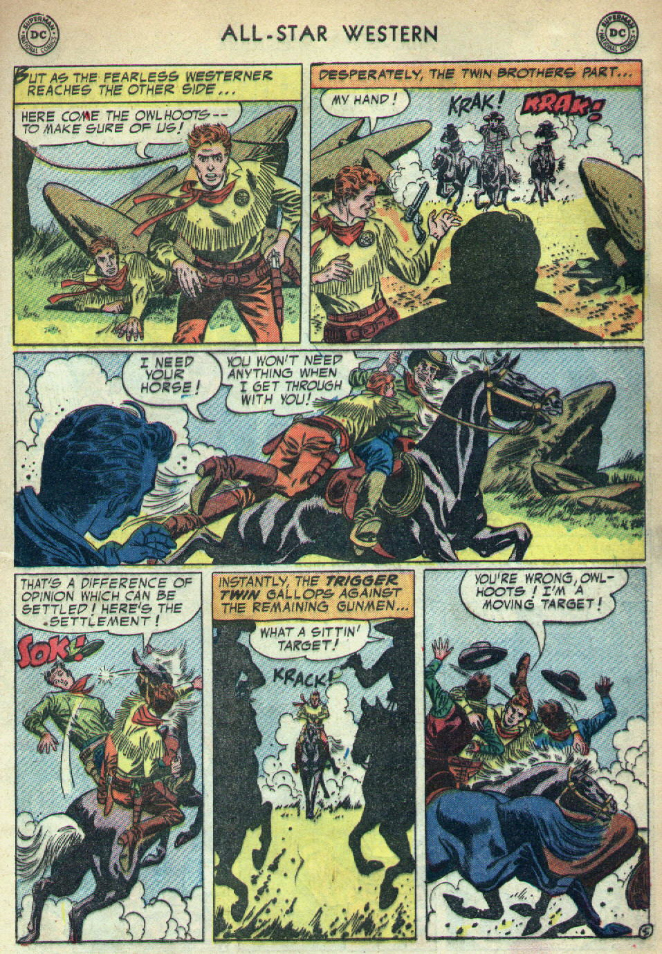 Read online All-Star Western (1951) comic -  Issue #79 - 33