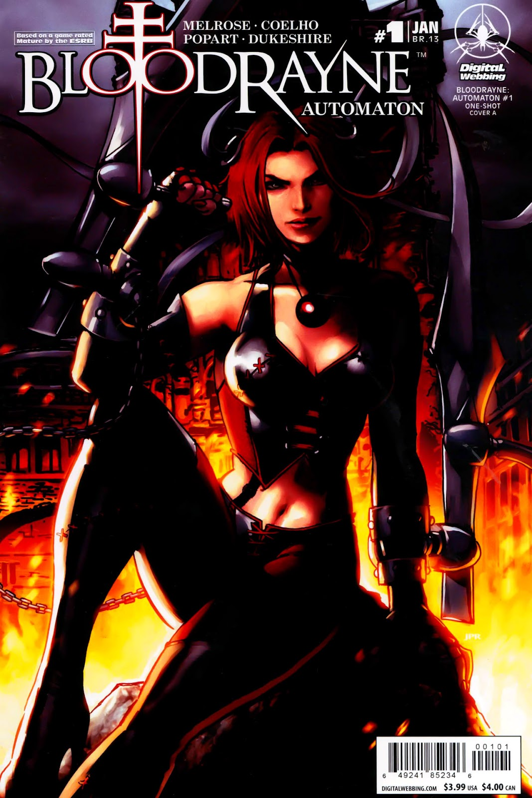 BloodRayne: Automaton issue Full - Page 1