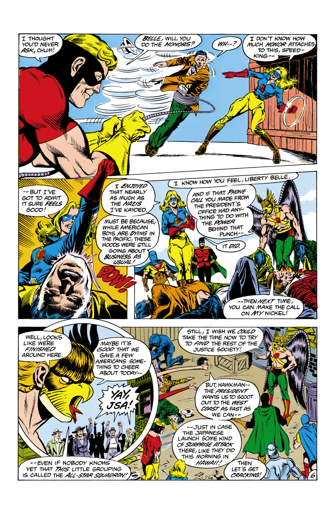 Read online All-Star Squadron comic -  Issue #2 - 7