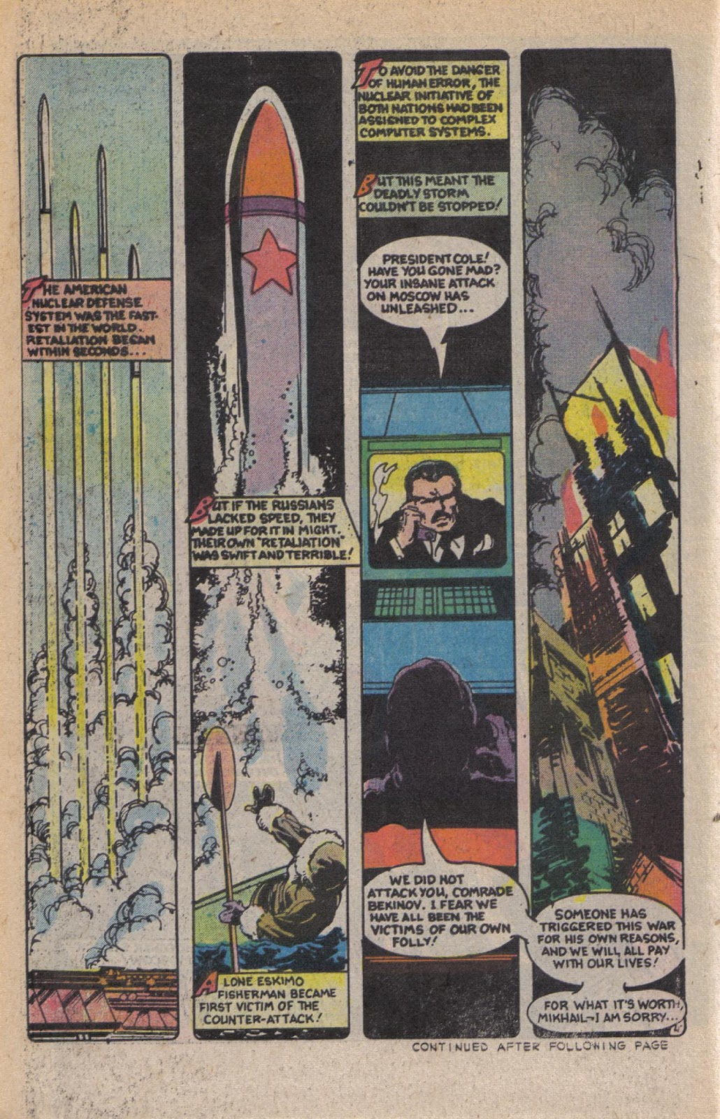 Read online Doomsday   1 (1975) comic -  Issue #10 - 6