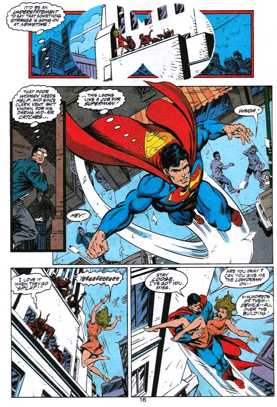 Read online Adventures of Superman (1987) comic -  Issue #493 - 17