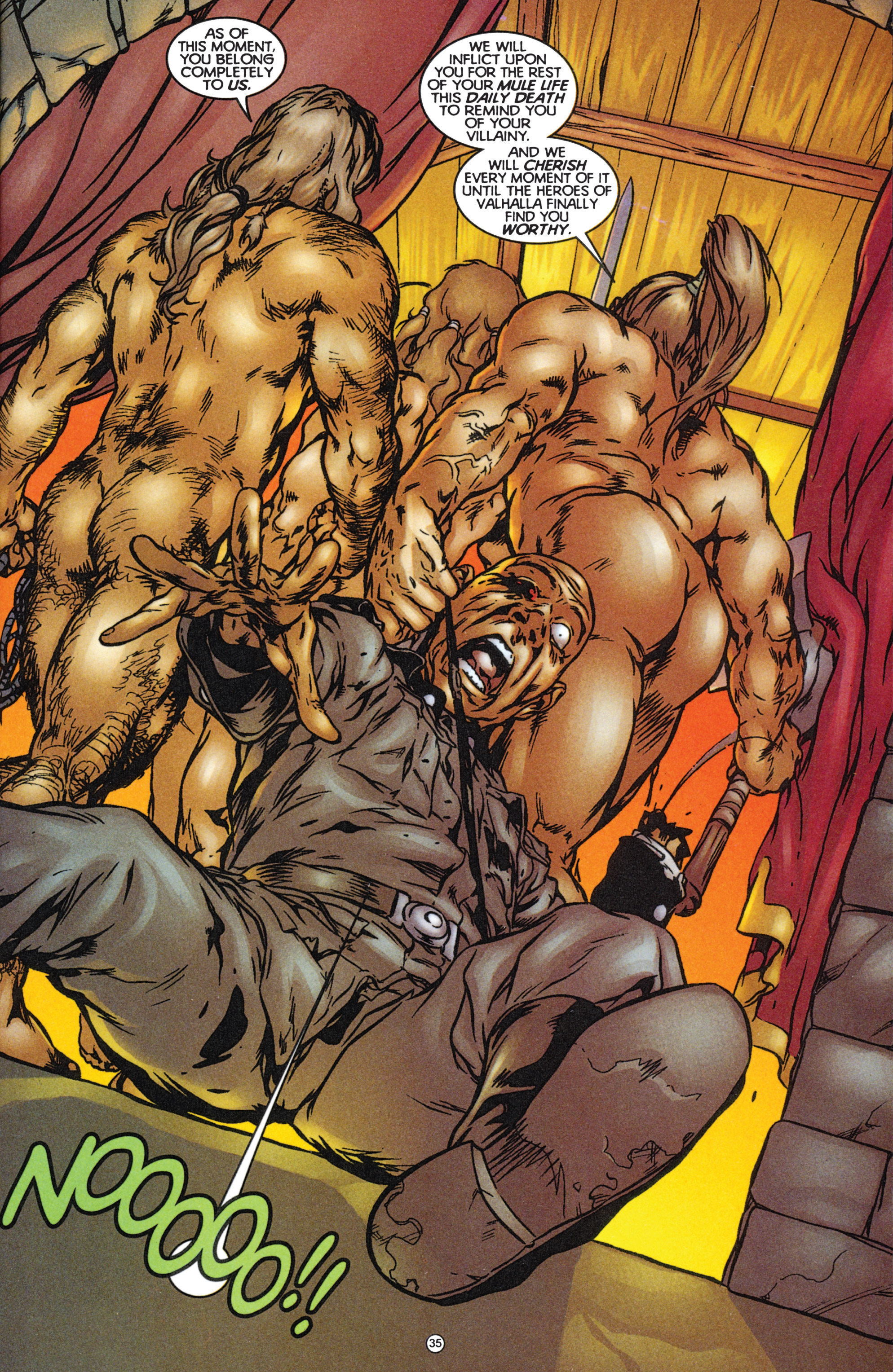 Read online Eternal Warriors comic -  Issue # Issue The Immortal Enemy - 32