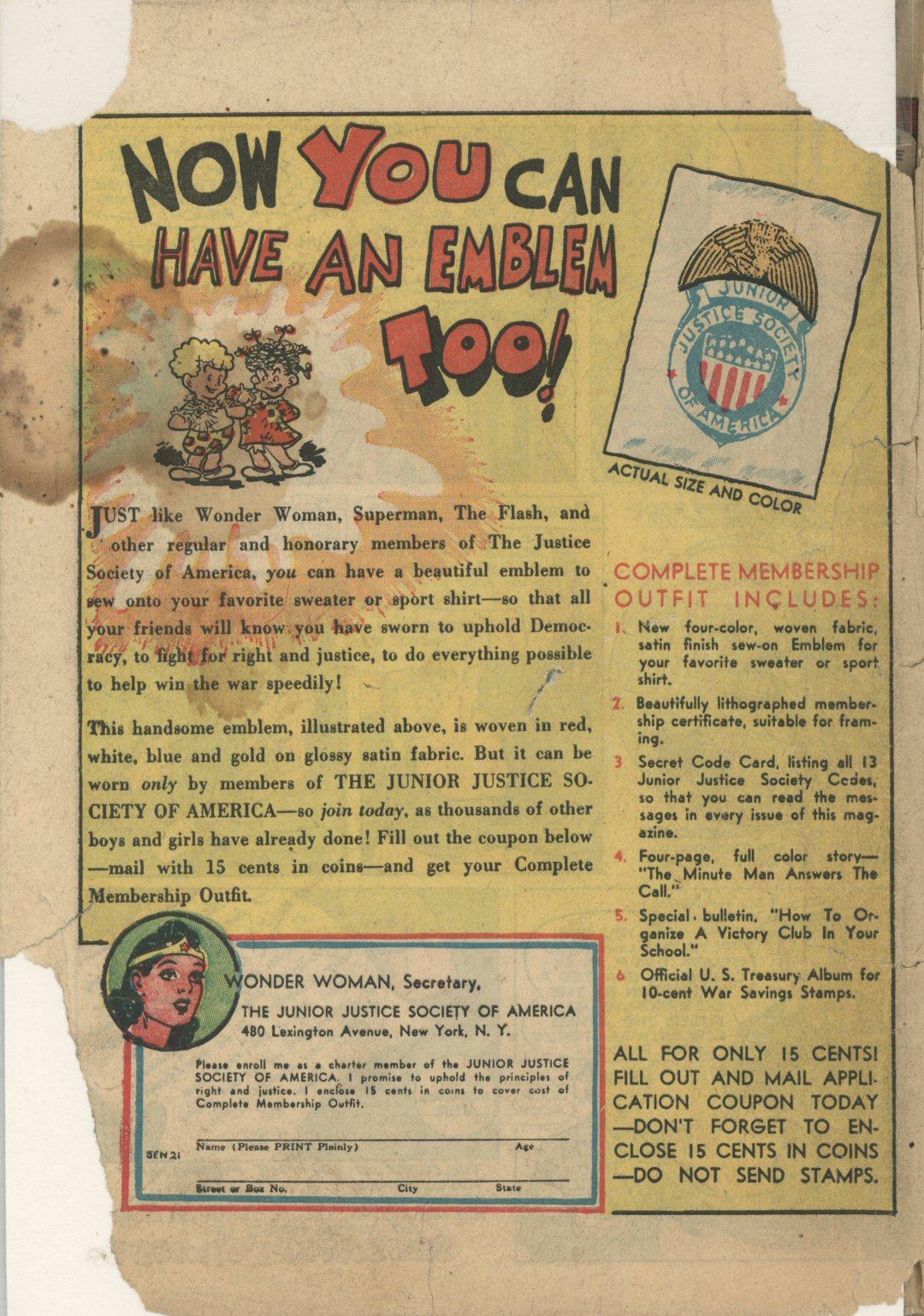 Read online Sensation (Mystery) Comics comic -  Issue #21 - 56