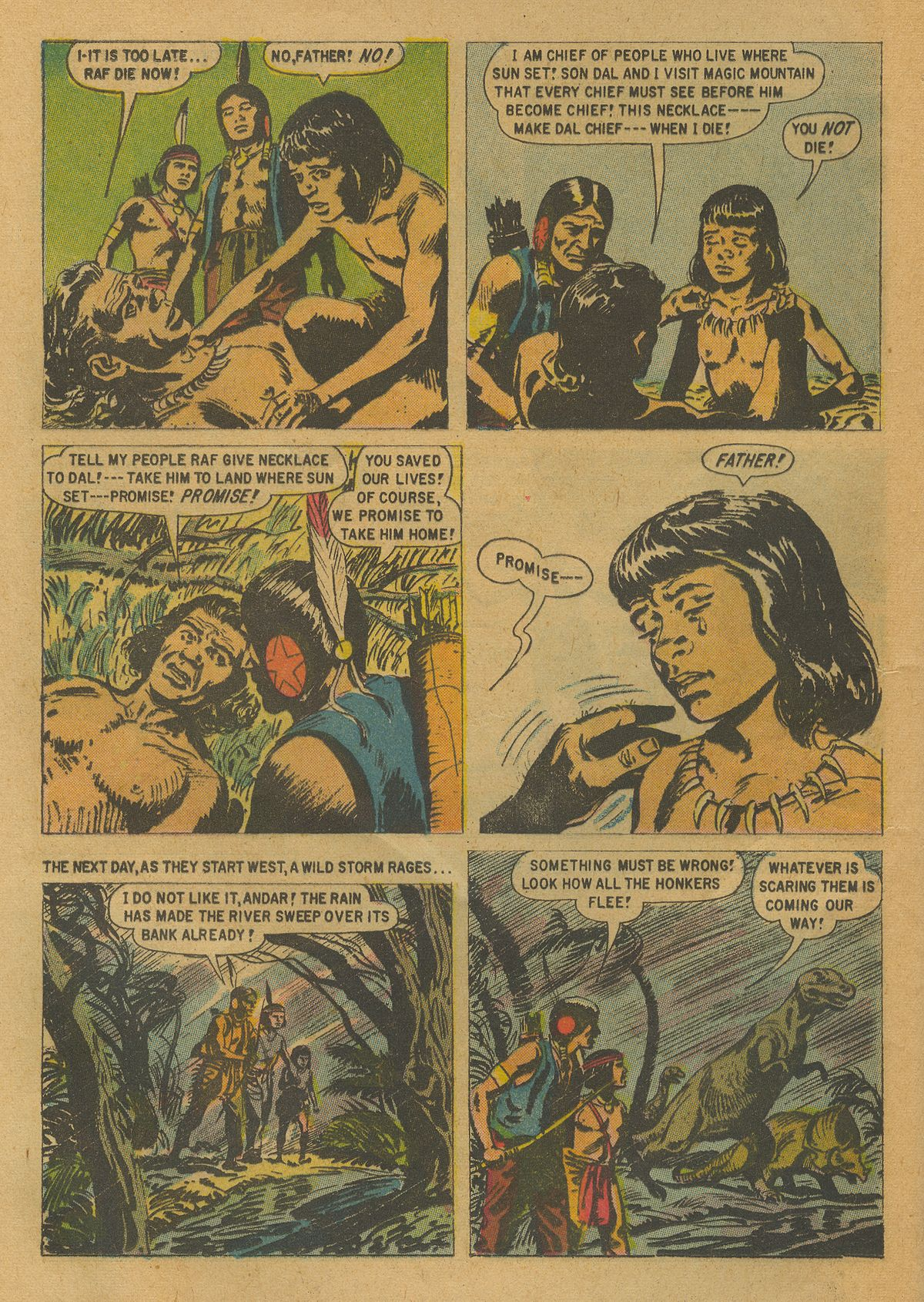 Read online Turok, Son of Stone comic -  Issue #17 - 24