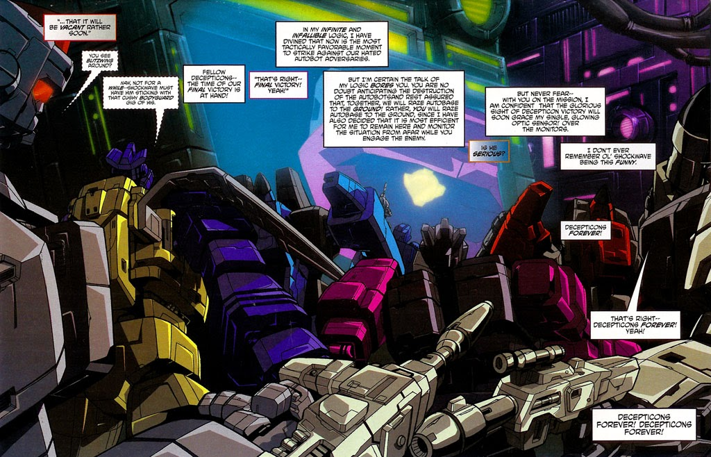 Read online Transformers: Micromasters comic -  Issue #4 - 6