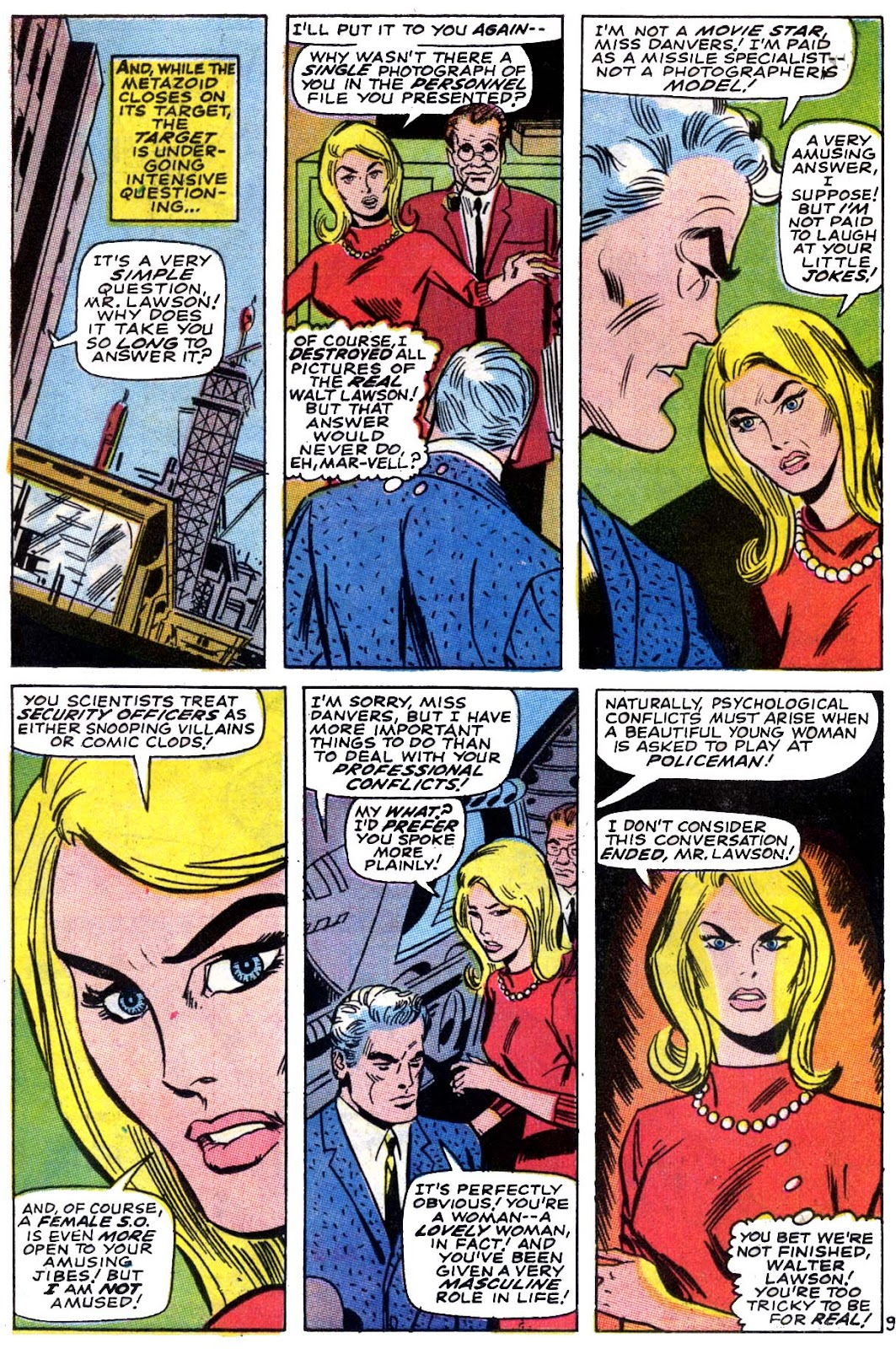 Captain Marvel (1968) issue 5 - Page 10