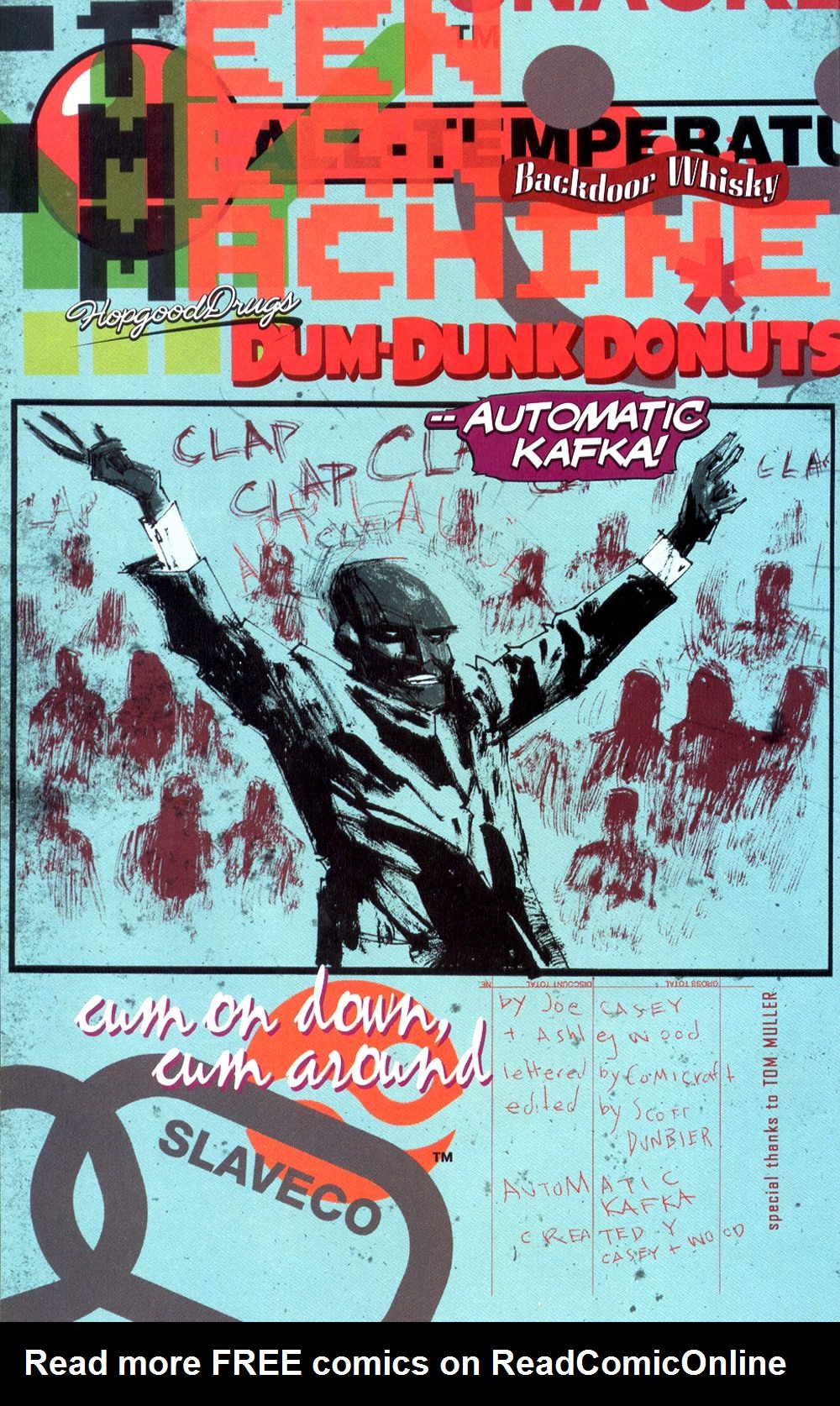 Read online Automatic Kafka comic -  Issue #3 - 4