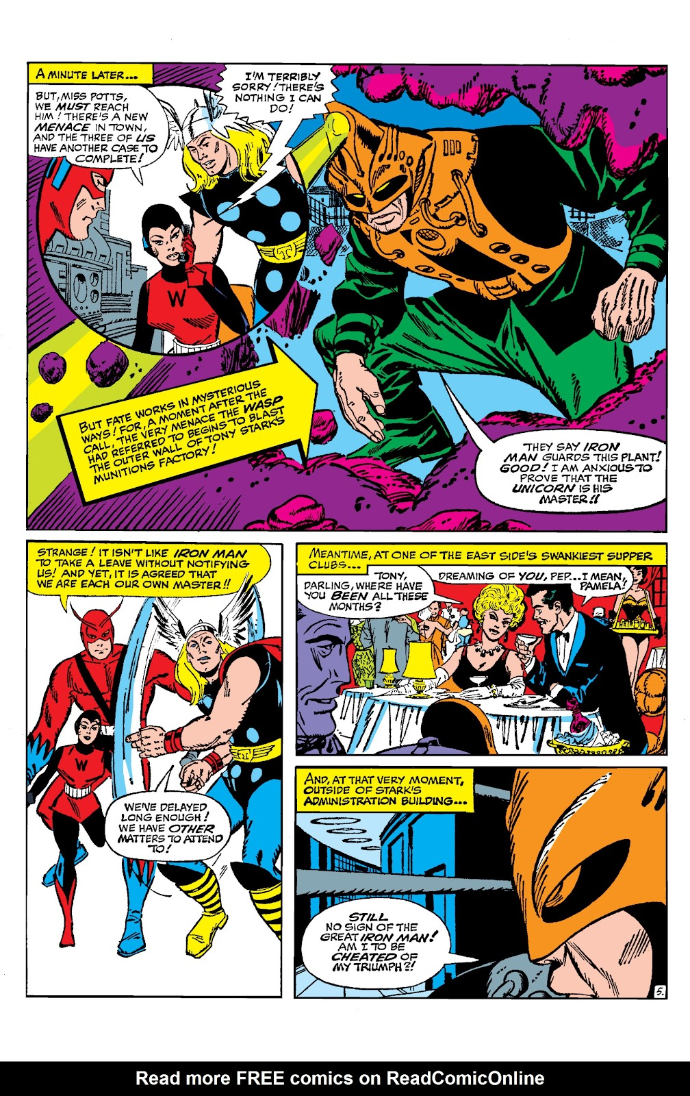 Read online Marvel Masterworks: The Invincible Iron Man comic -  Issue # TPB 2 (Part 1) - 86