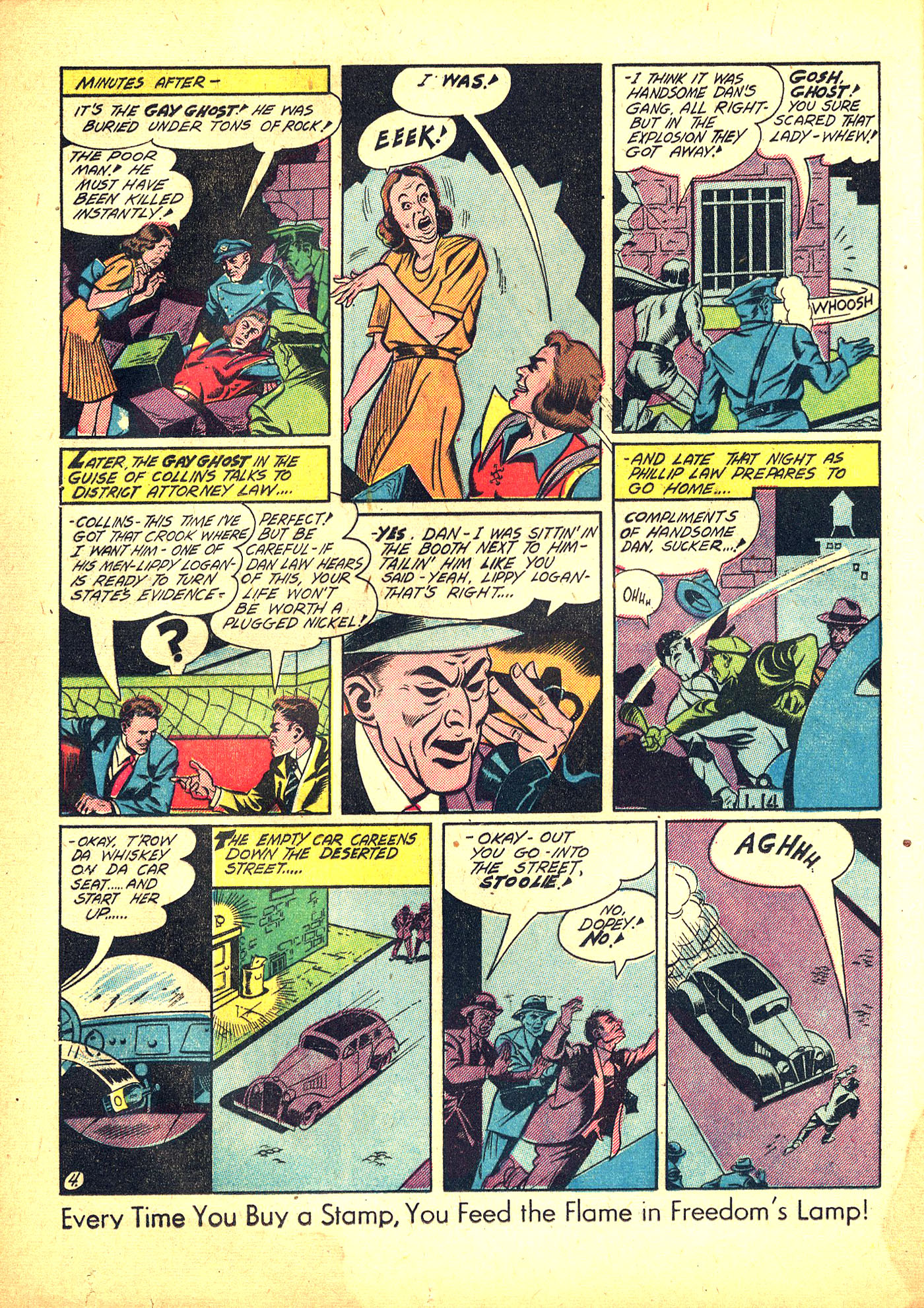 Read online Sensation (Mystery) Comics comic -  Issue #31 - 20