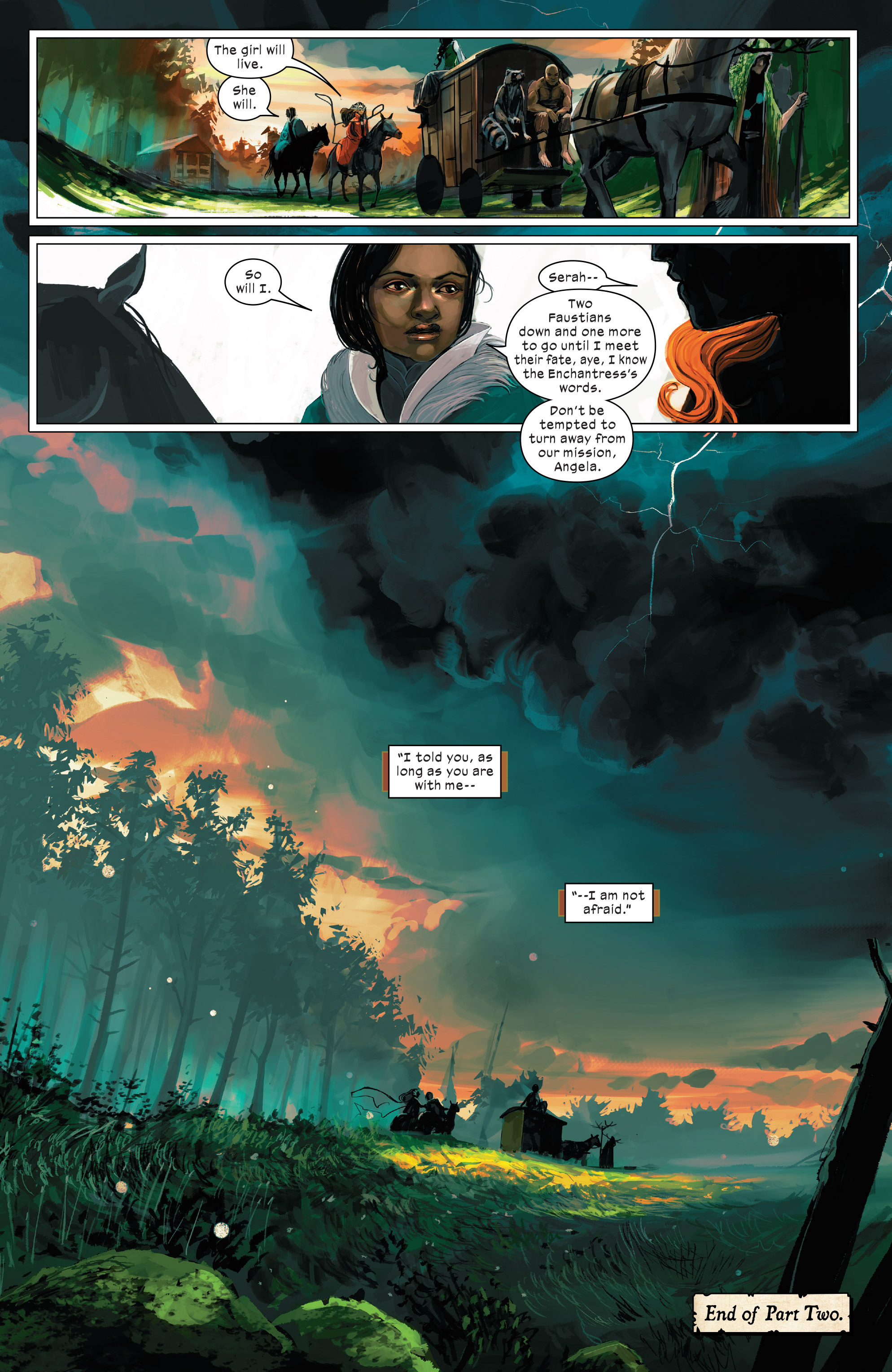 Read online 1602 Witch Hunter Angela comic -  Issue #2 - 20