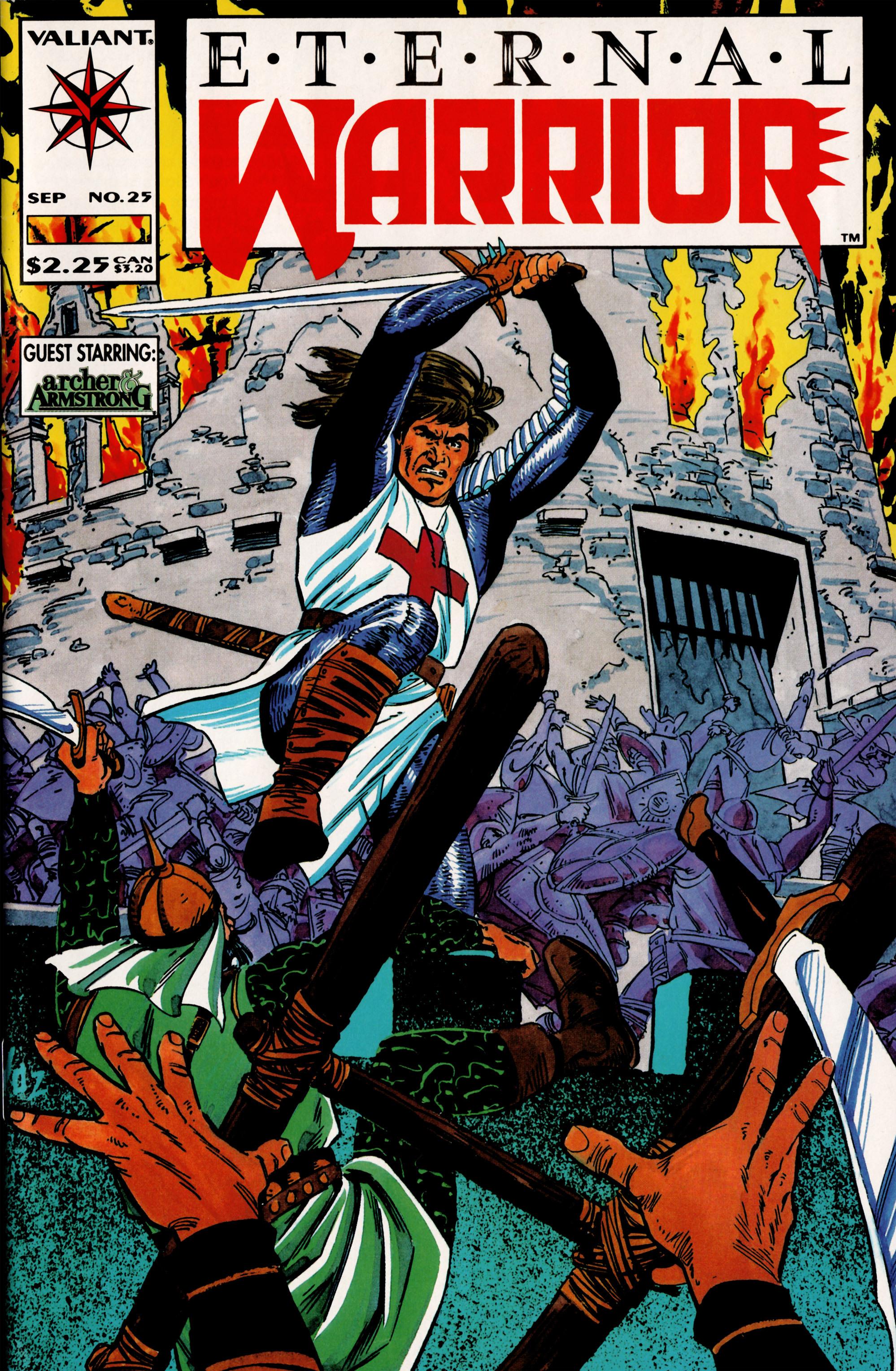 Read online Eternal Warrior (1992) comic -  Issue #25 - 1