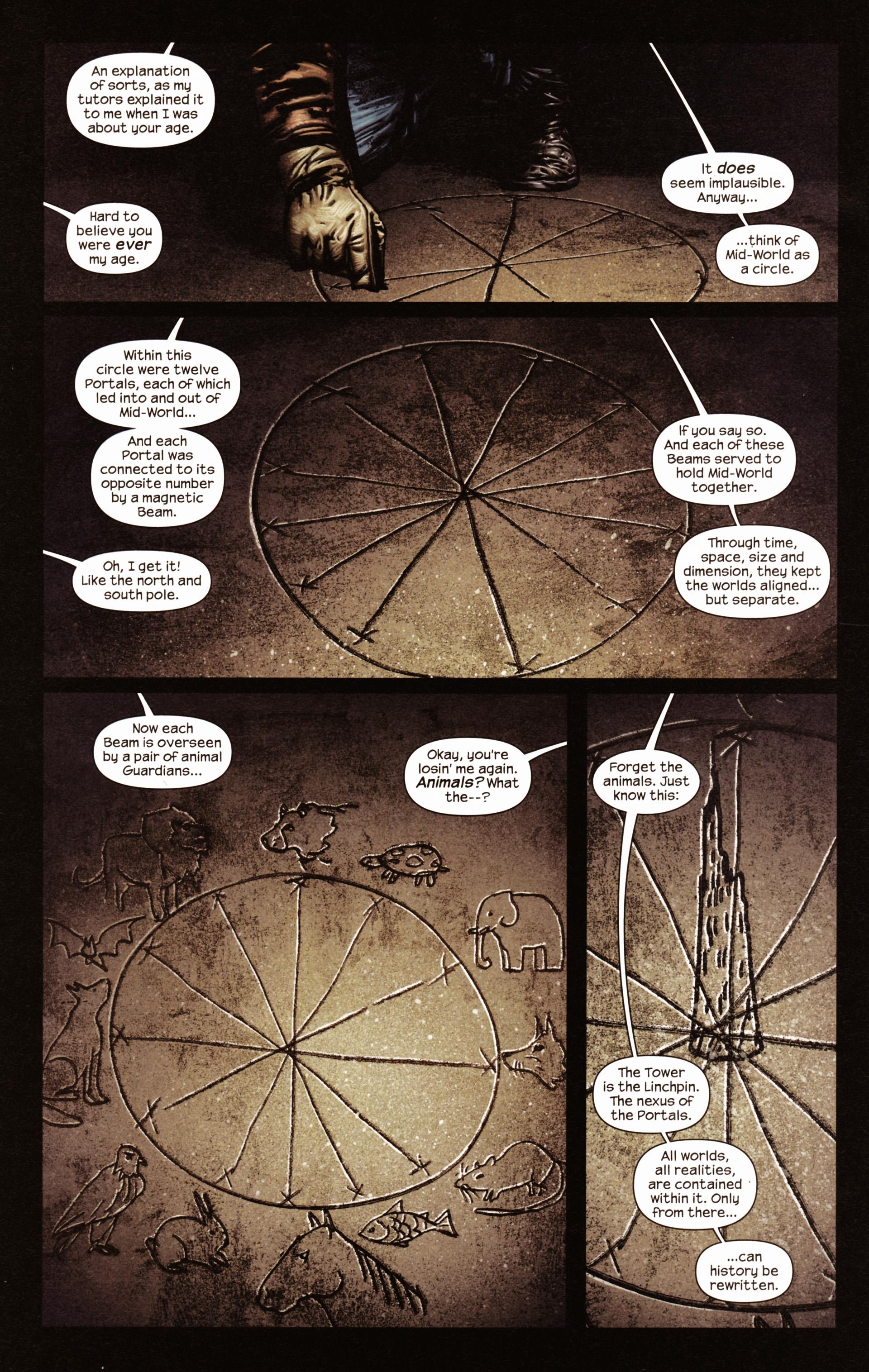 Read online Dark Tower: The Gunslinger - The Man in Black comic -  Issue #2 - 11