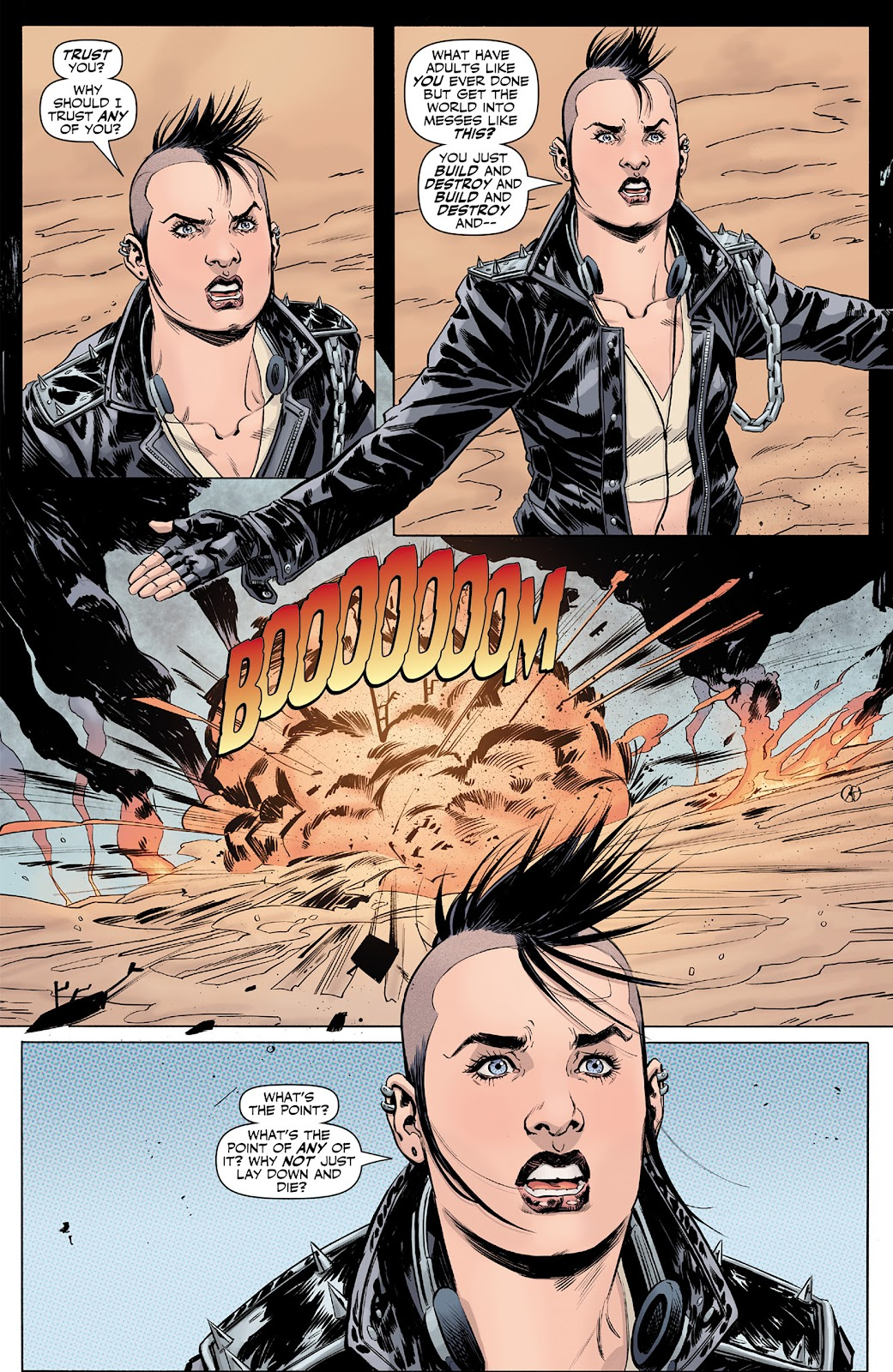 Doc Savage (2013) issue 4 - Page 21