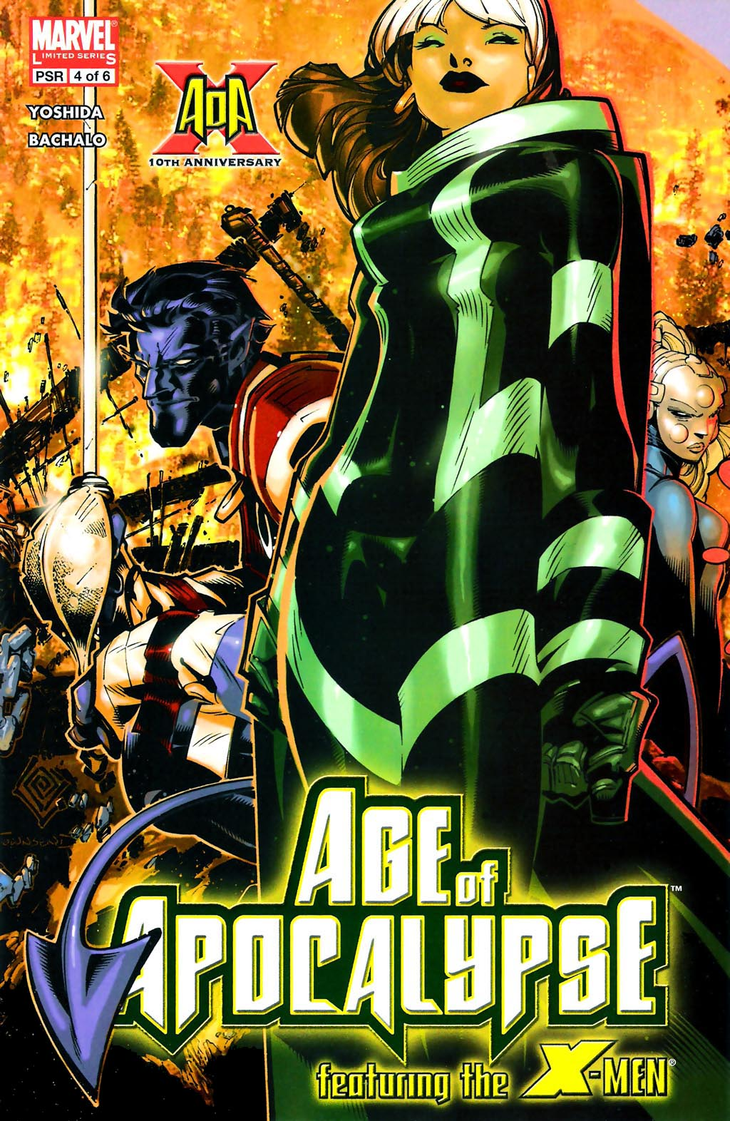 Read online Age of Apocalypse (2005) comic -  Issue #4 - 1