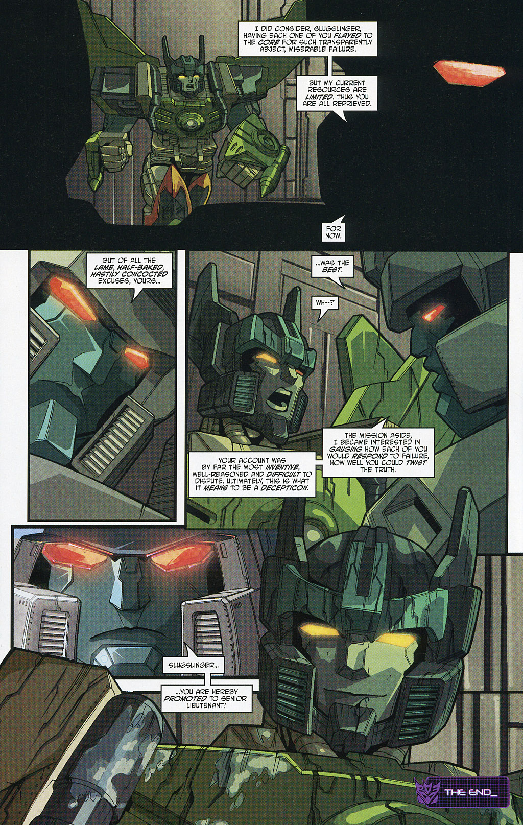 Read online Transformers 20th Anniversary Summer Special comic -  Issue # Full - 21