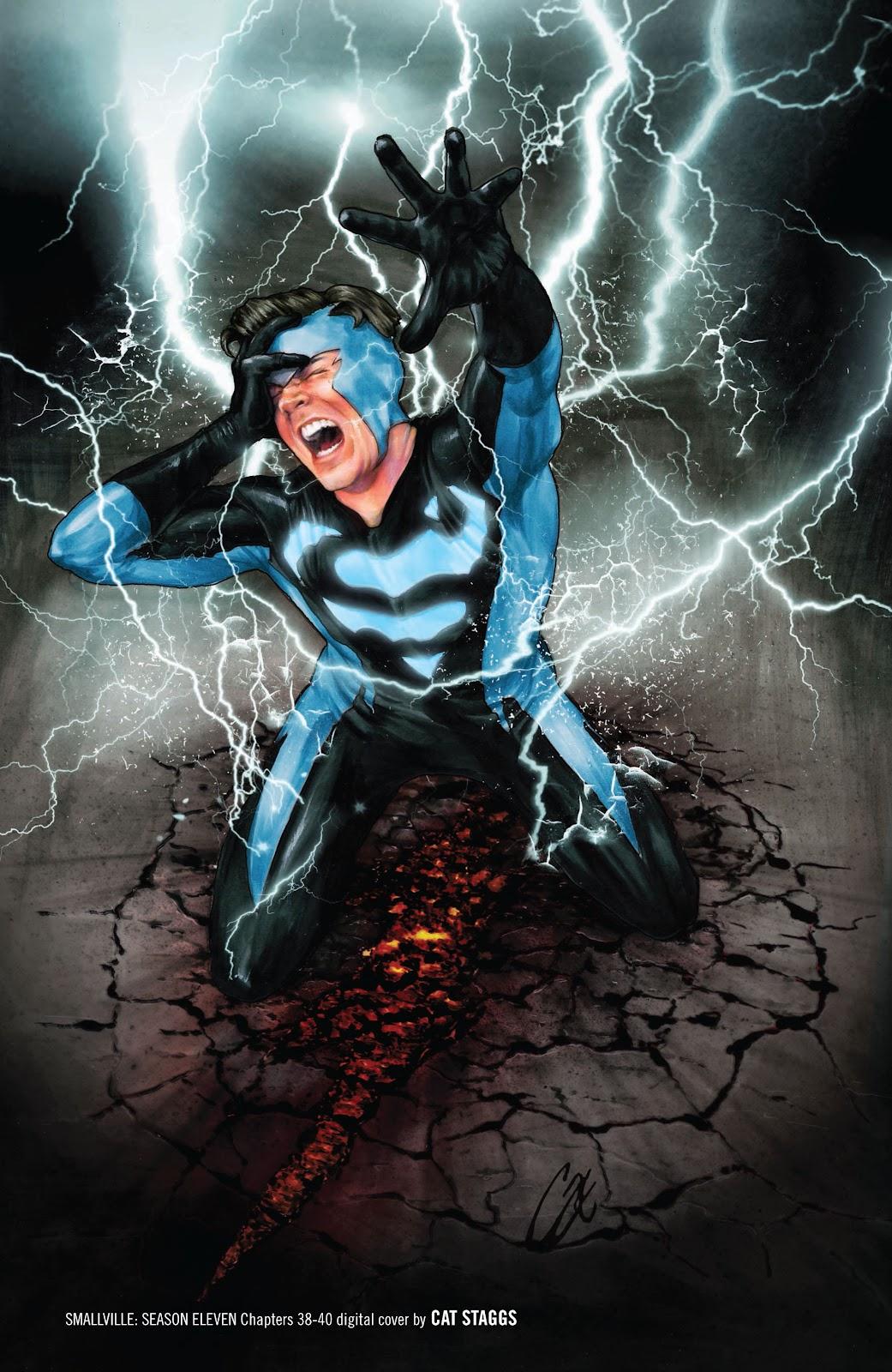 Read online Smallville Season 11 [II] comic -  Issue # TPB 3 - 136