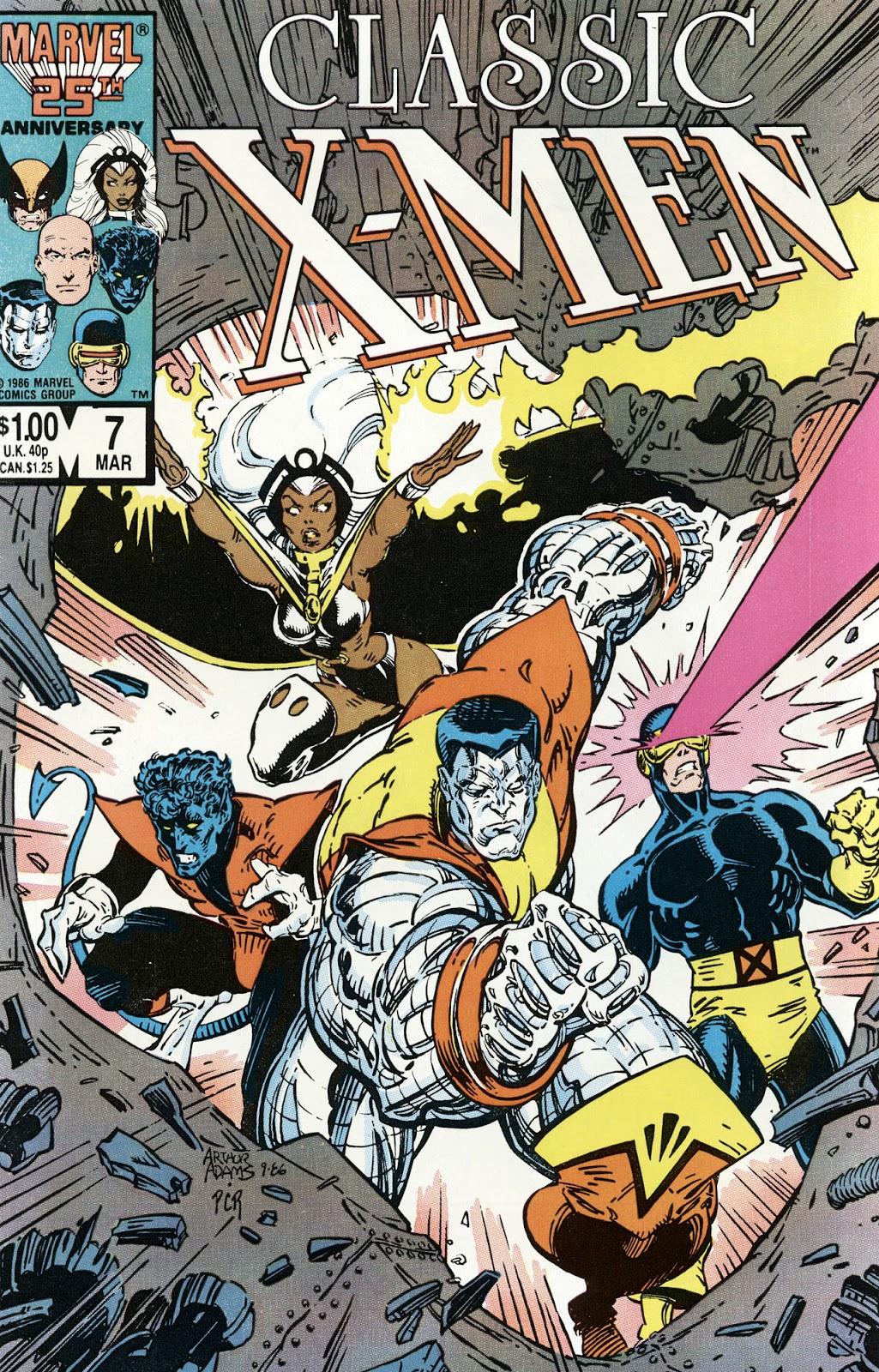 Classic X-Men 7 Page 1