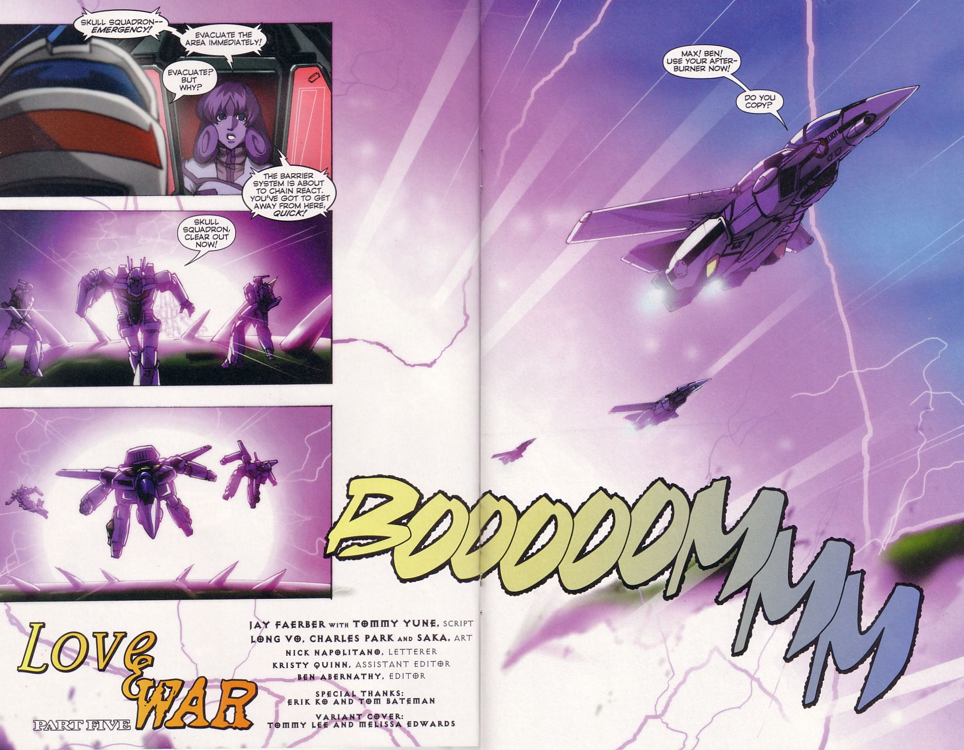 Read online Robotech: Love and War comic -  Issue #5 - 6