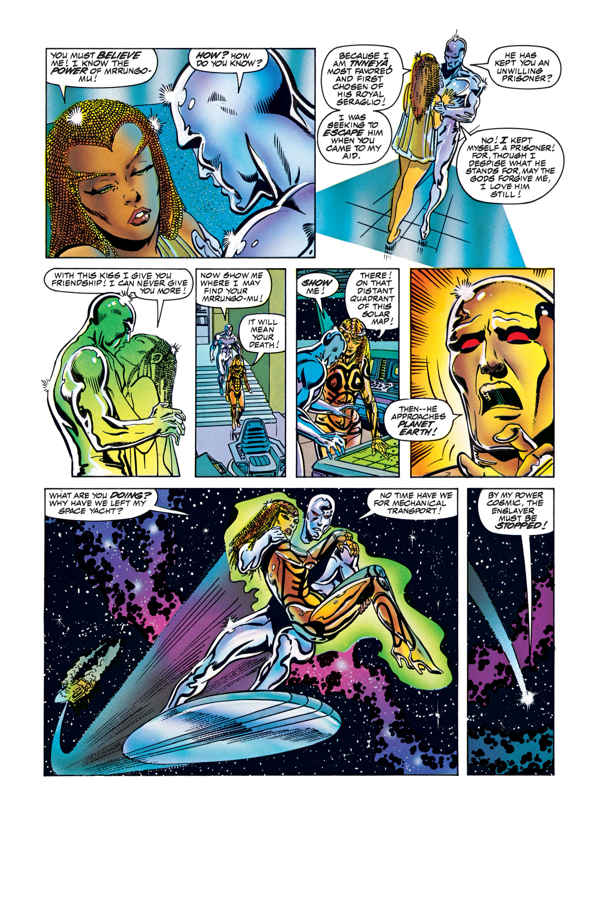 Read online Silver Surfer: Parable comic -  Issue # TPB - 106
