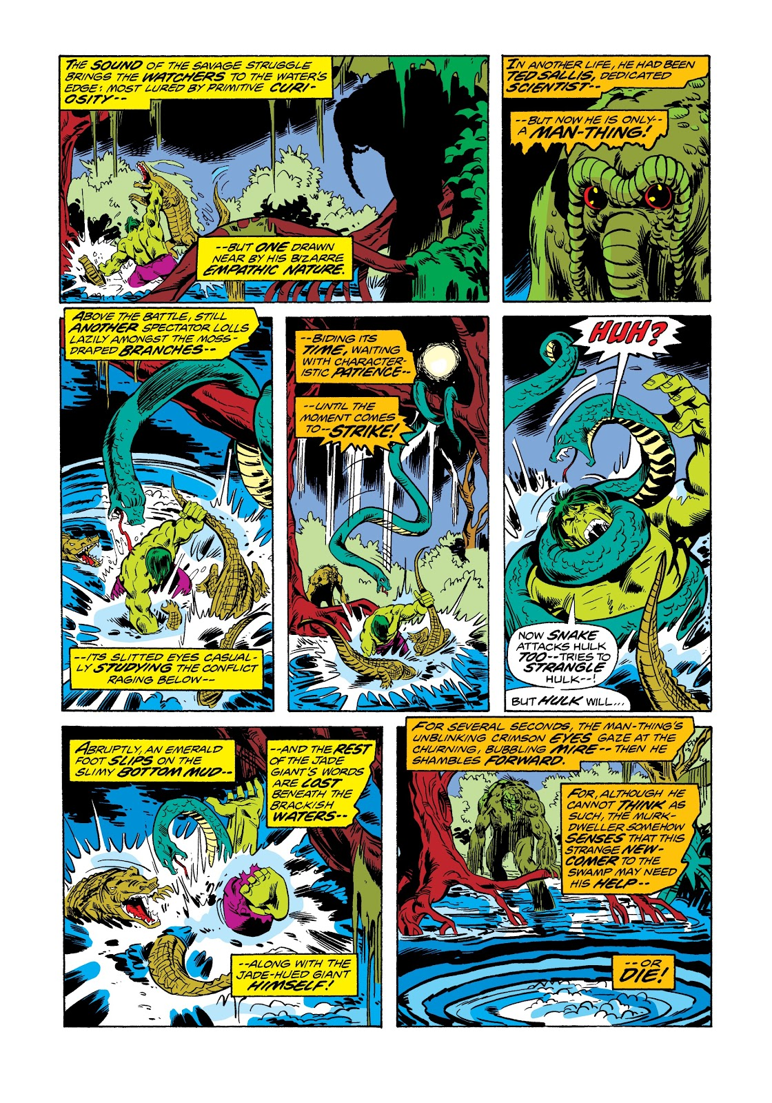 Read online Marvel Masterworks: The Incredible Hulk comic -  Issue # TPB 12 (Part 1) - 12