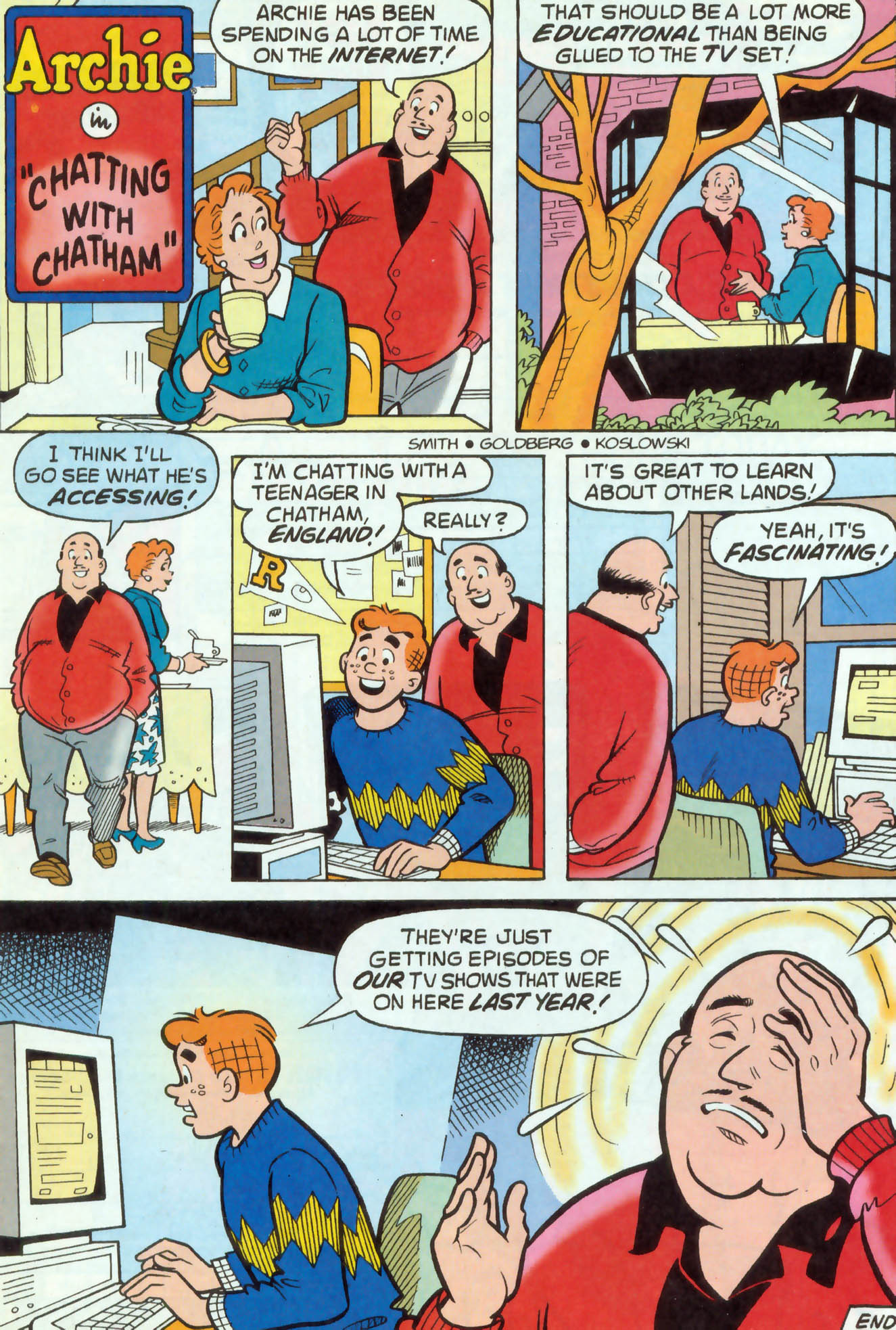 Read online Archie (1960) comic -  Issue #468 - 8