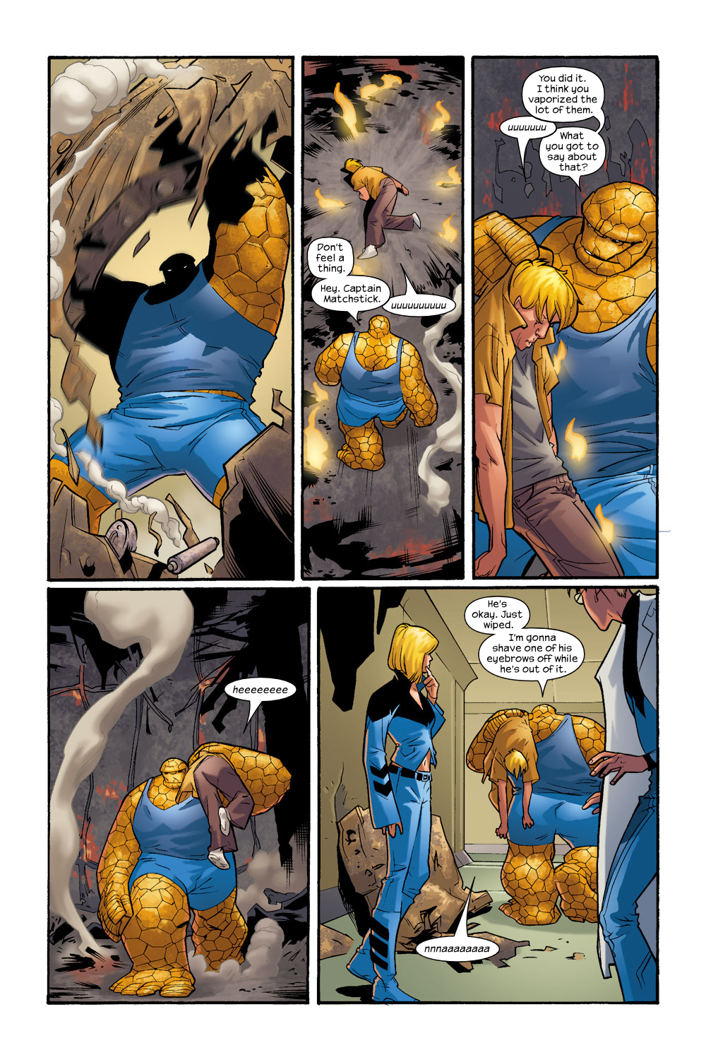 Read online Ultimate Fantastic Four (2004) comic -  Issue #9 - 20
