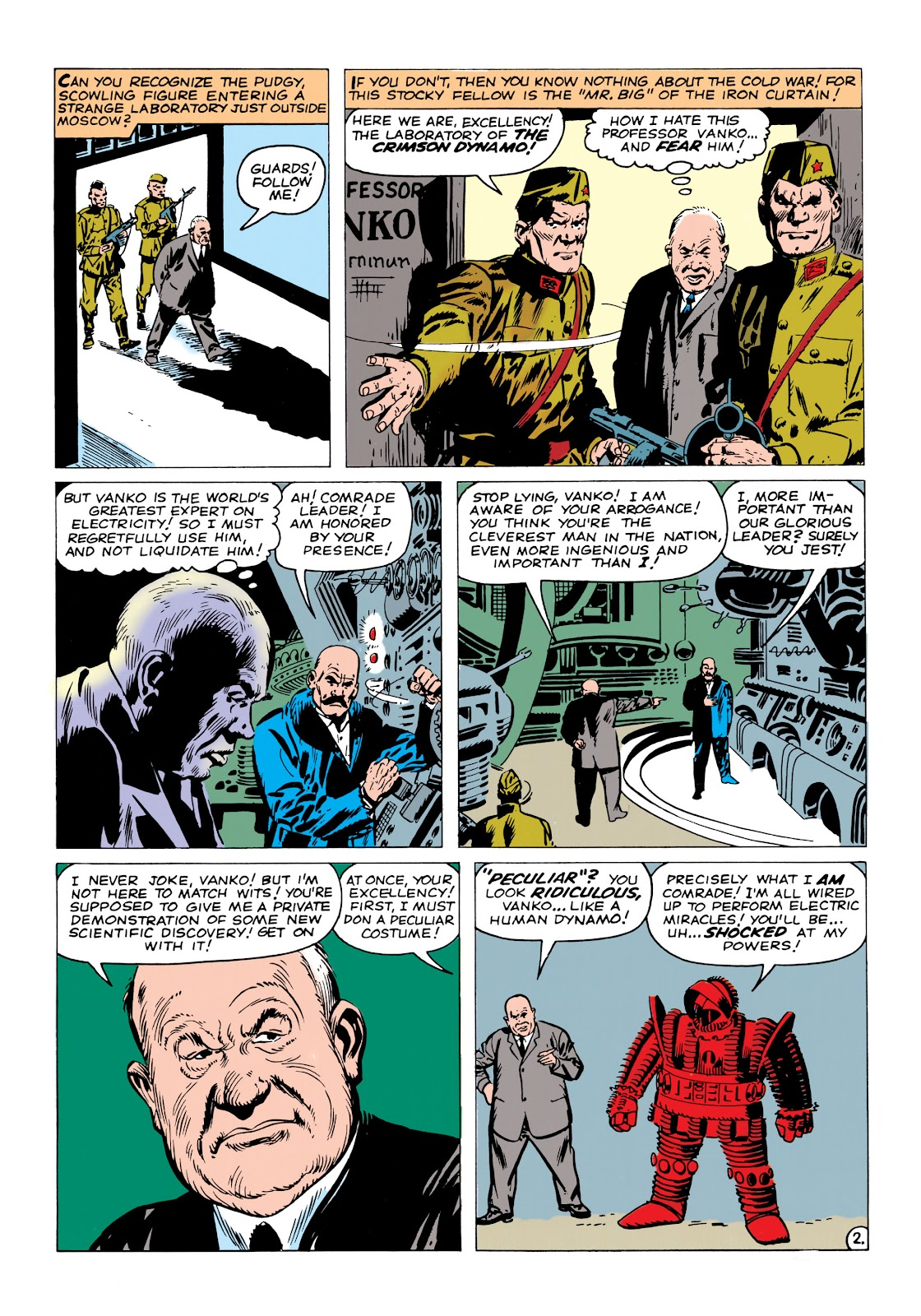 Read online Marvel Masterworks: The Invincible Iron Man comic -  Issue # TPB 1 (Part 2) - 8