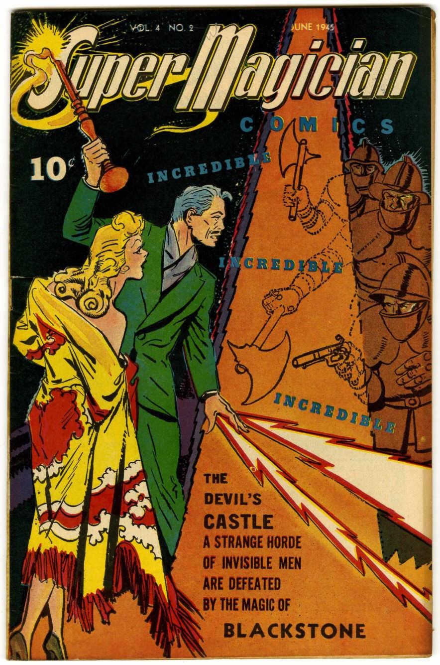 Read online Super-Magician Comics comic -  Issue #38 - 1