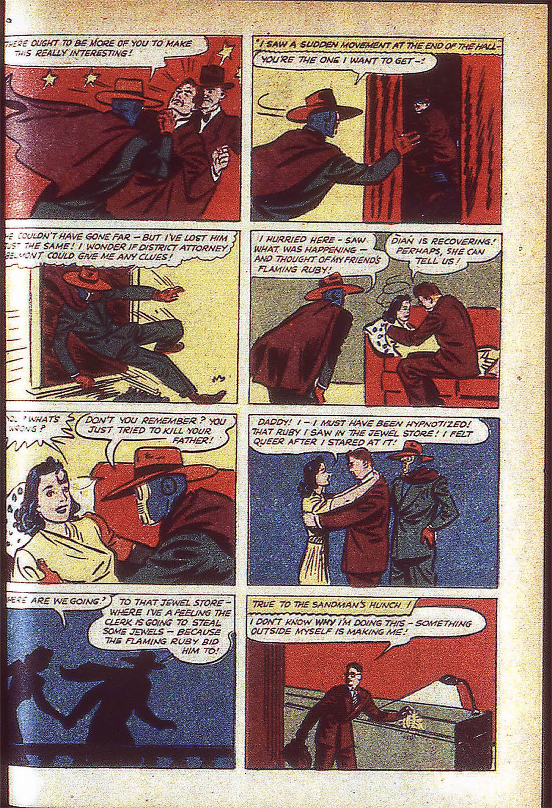 Read online Adventure Comics (1938) comic -  Issue #59 - 60