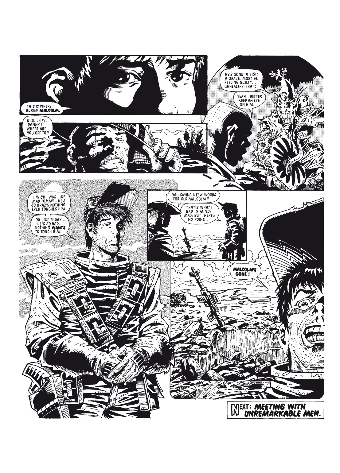 Read online The Complete Bad Company comic -  Issue # TPB - 61