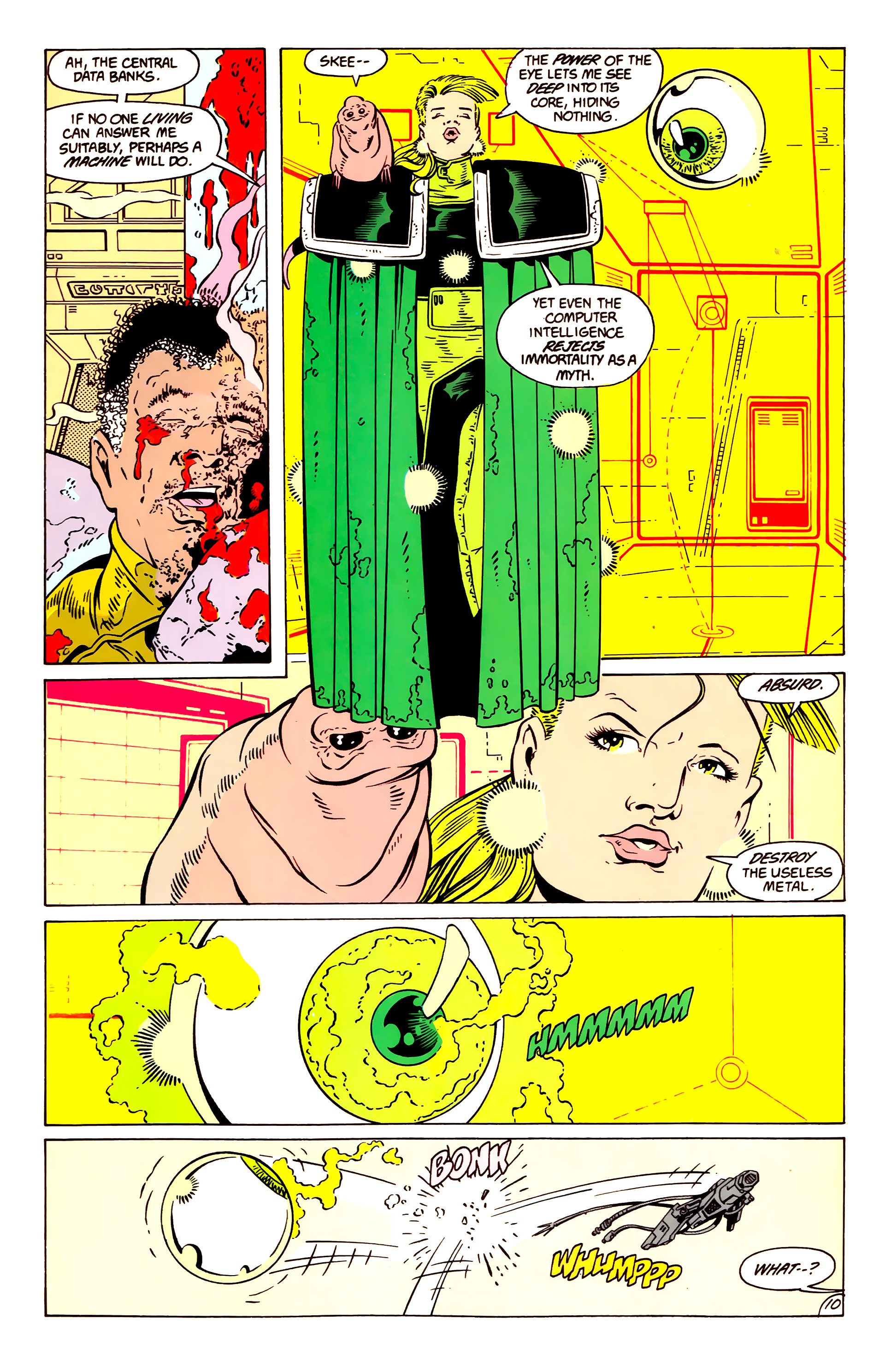 Legion of Super-Heroes (1984) 57 Page 10