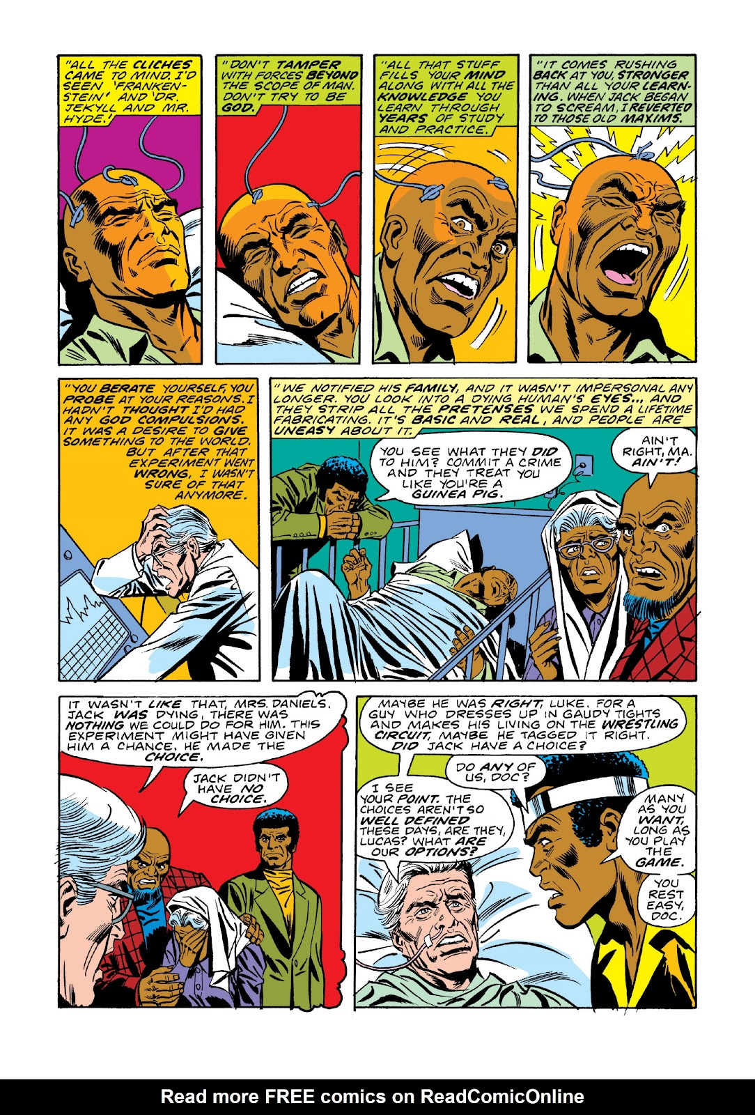 Read online Marvel Masterworks: Luke Cage, Power Man comic -  Issue # TPB 3 (Part 1) - 73