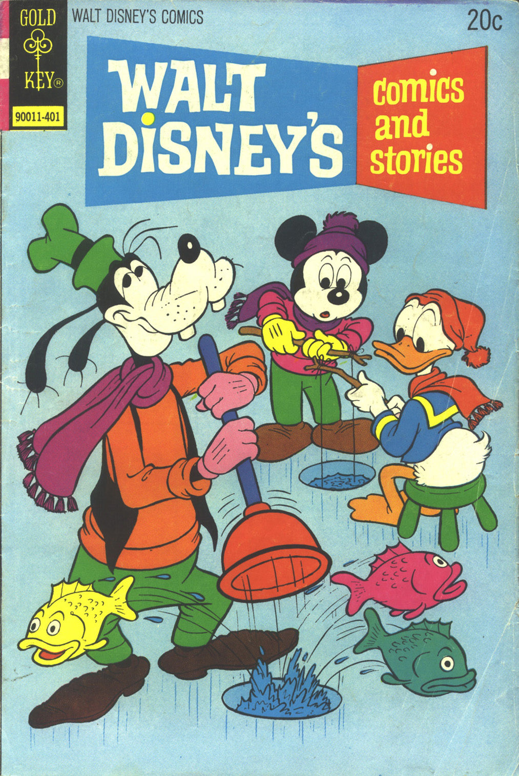 Walt Disney's Comics and Stories issue 400 - Page 1