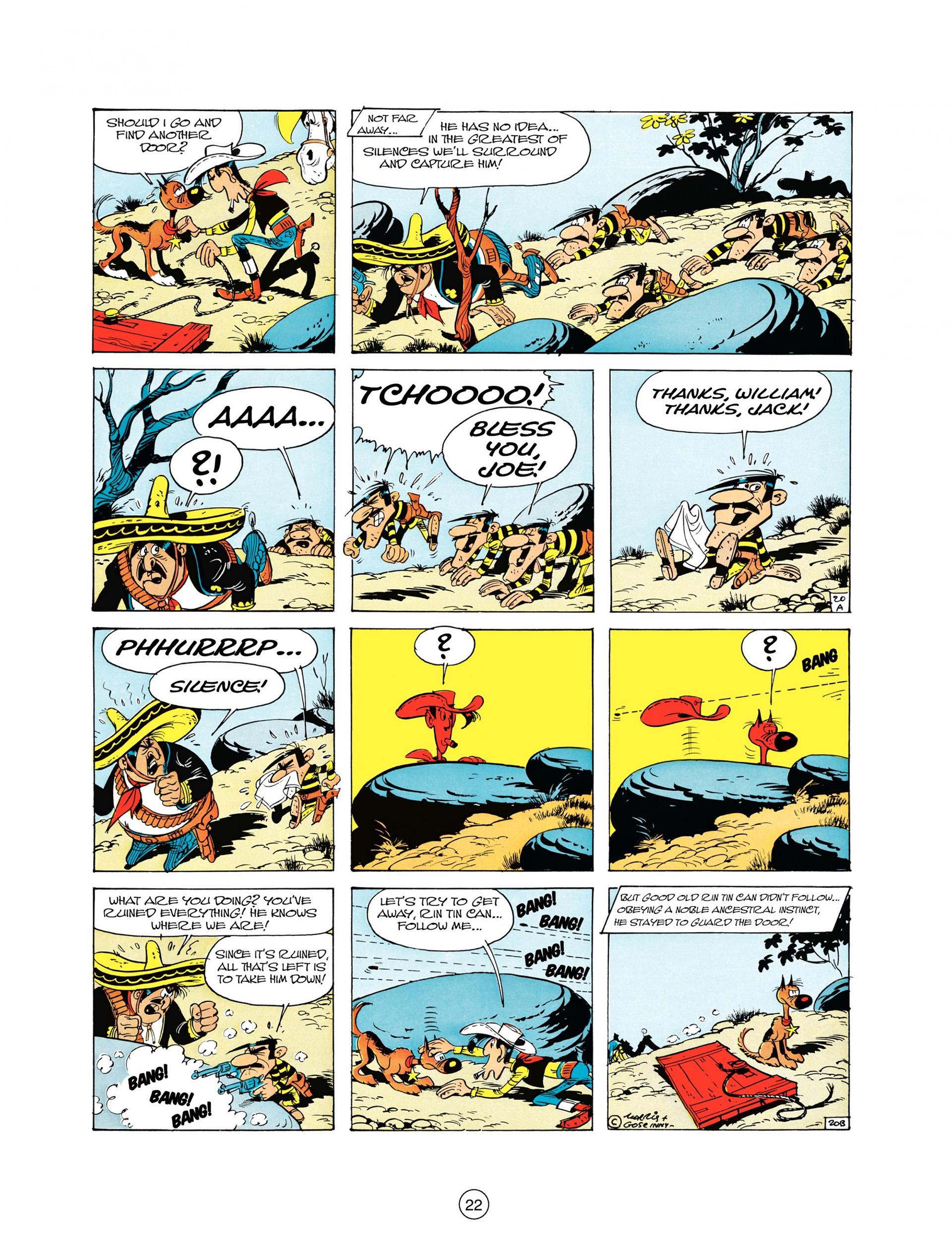 Read online A Lucky Luke Adventure comic -  Issue #10 - 22