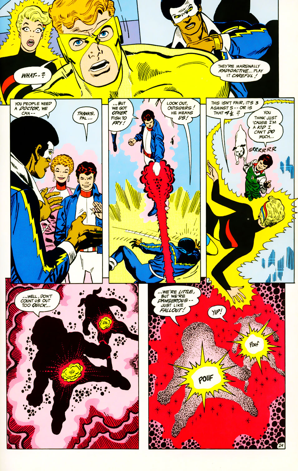 Read online Adventures of the Outsiders comic -  Issue #39 - 25
