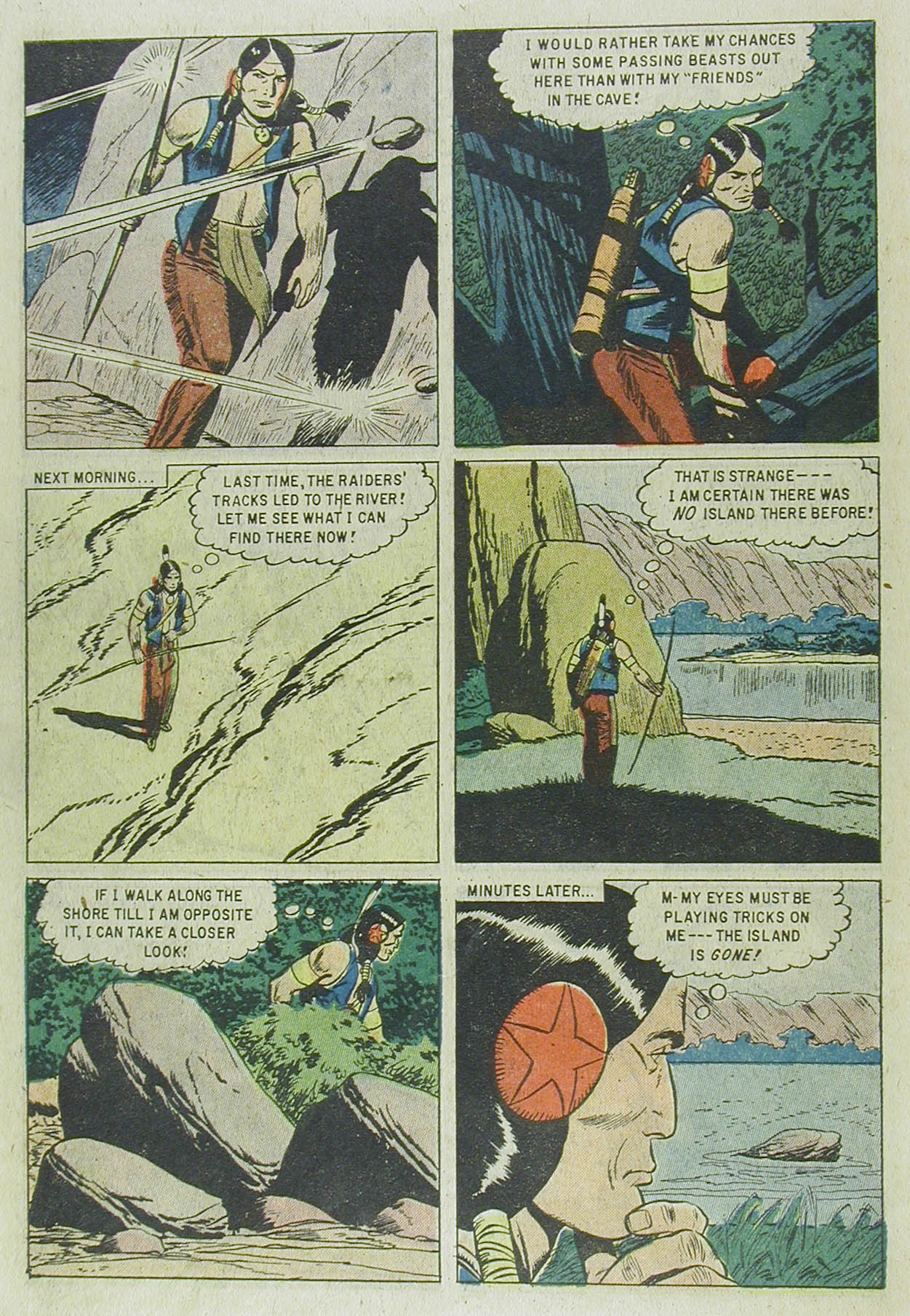 Read online Turok, Son of Stone comic -  Issue #13 - 10