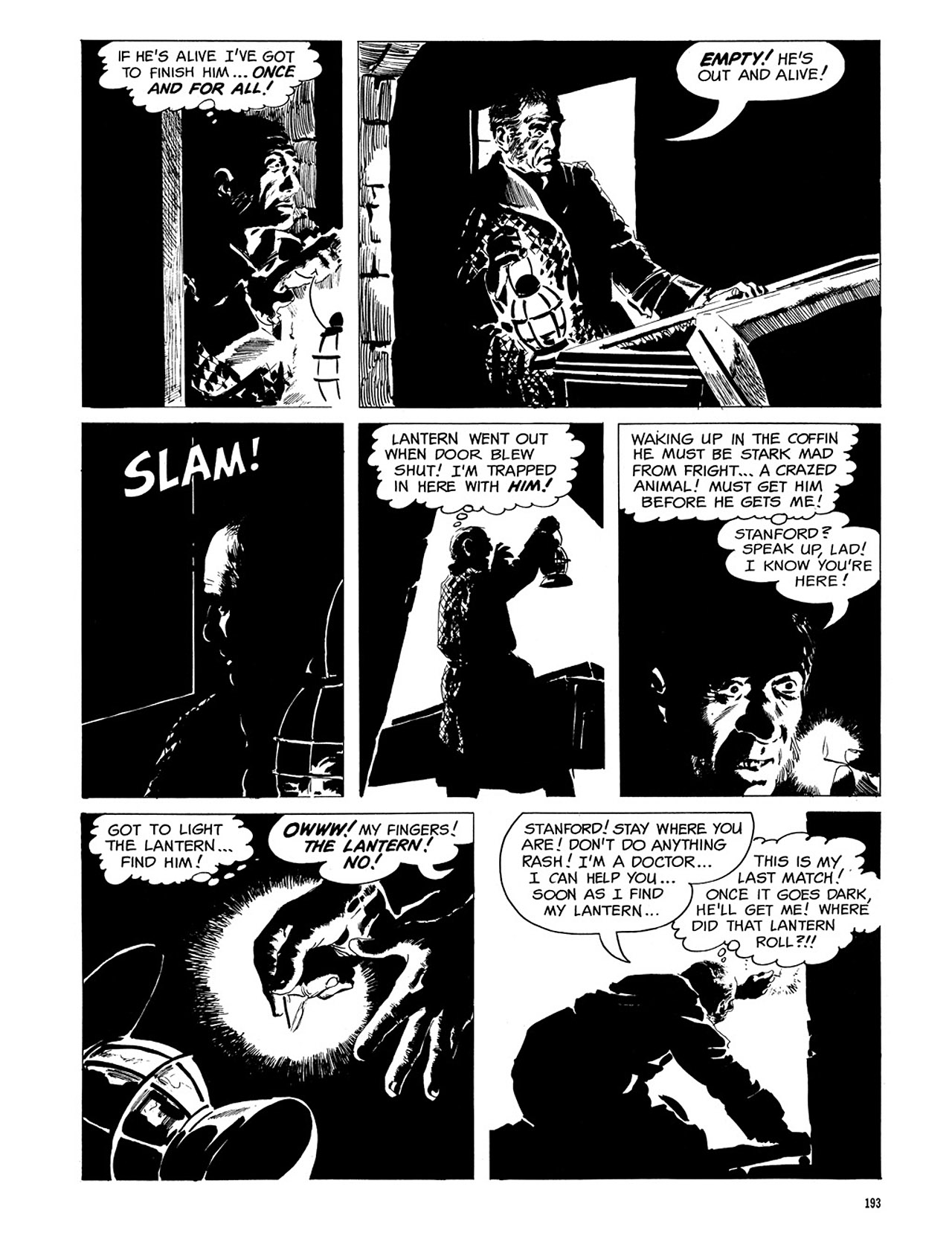 Read online Eerie Archives comic -  Issue # TPB 3 - 194