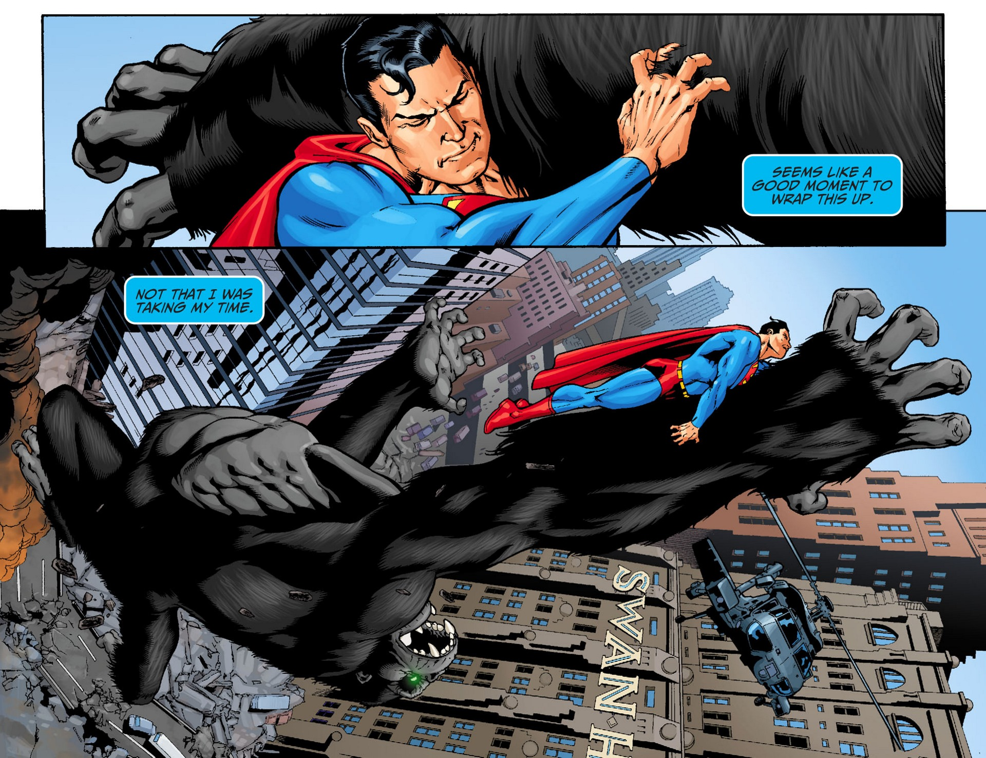 Read online Adventures of Superman [I] comic -  Issue #22 - 8