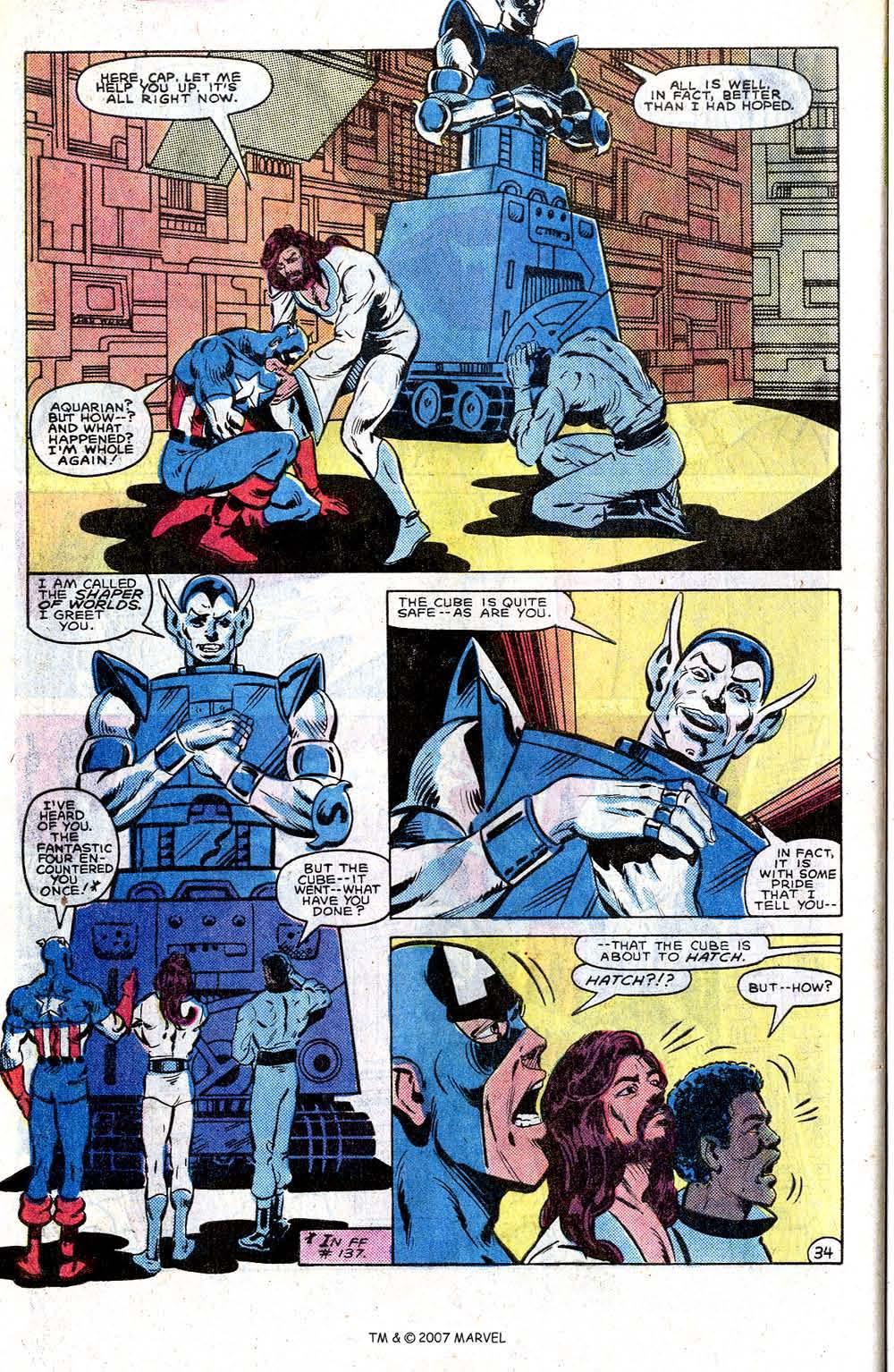 Read online Captain America (1968) comic -  Issue # _Annual 7 - 44