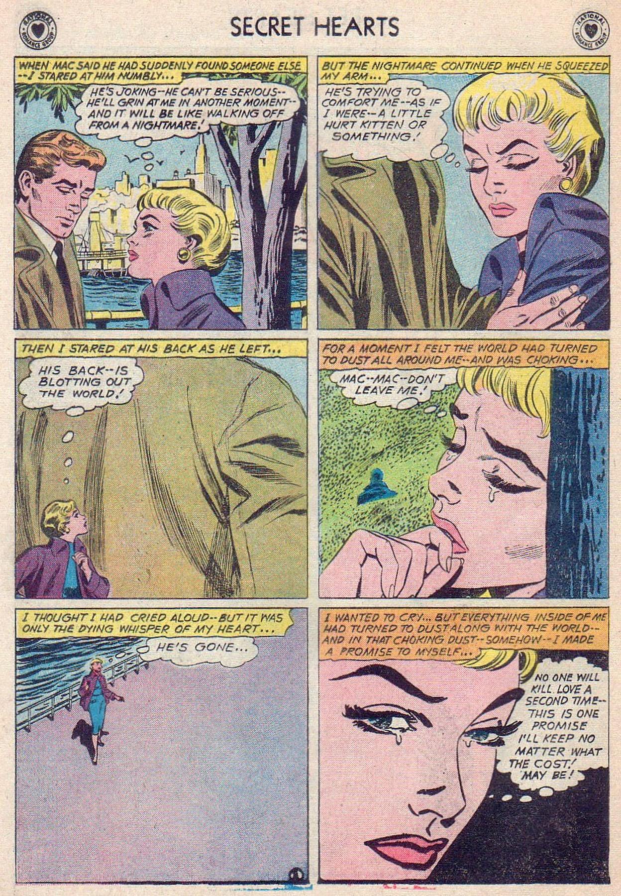 Read online Secret Hearts comic -  Issue #61 - 28