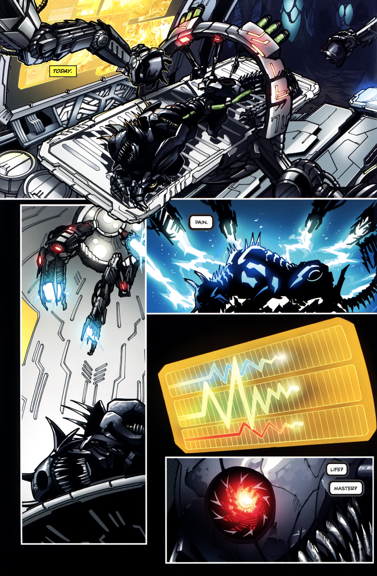 Read online Transformers: Tales of The Fallen comic -  Issue #5 - 4