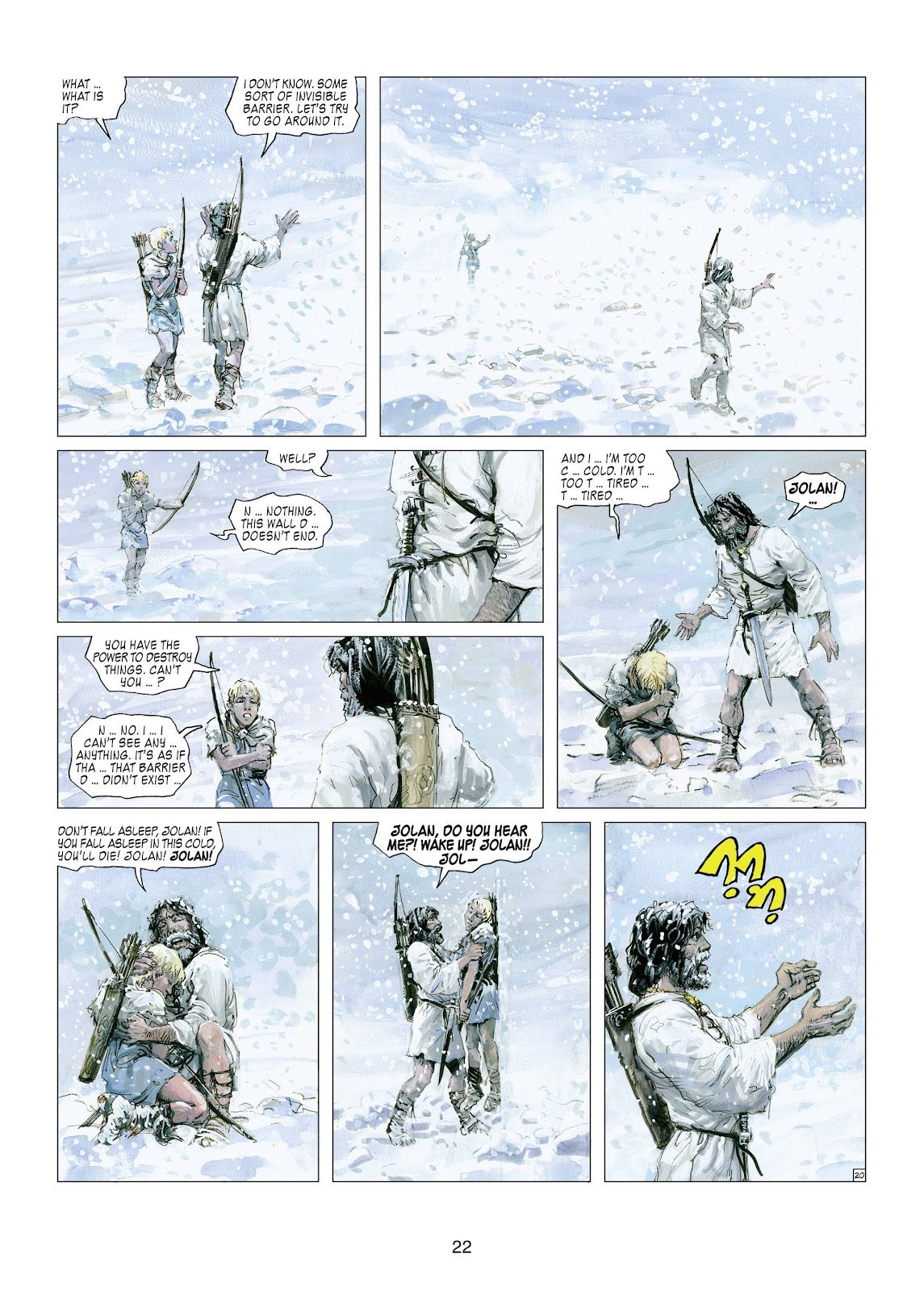 Read online Thorgal comic -  Issue #21 - 24