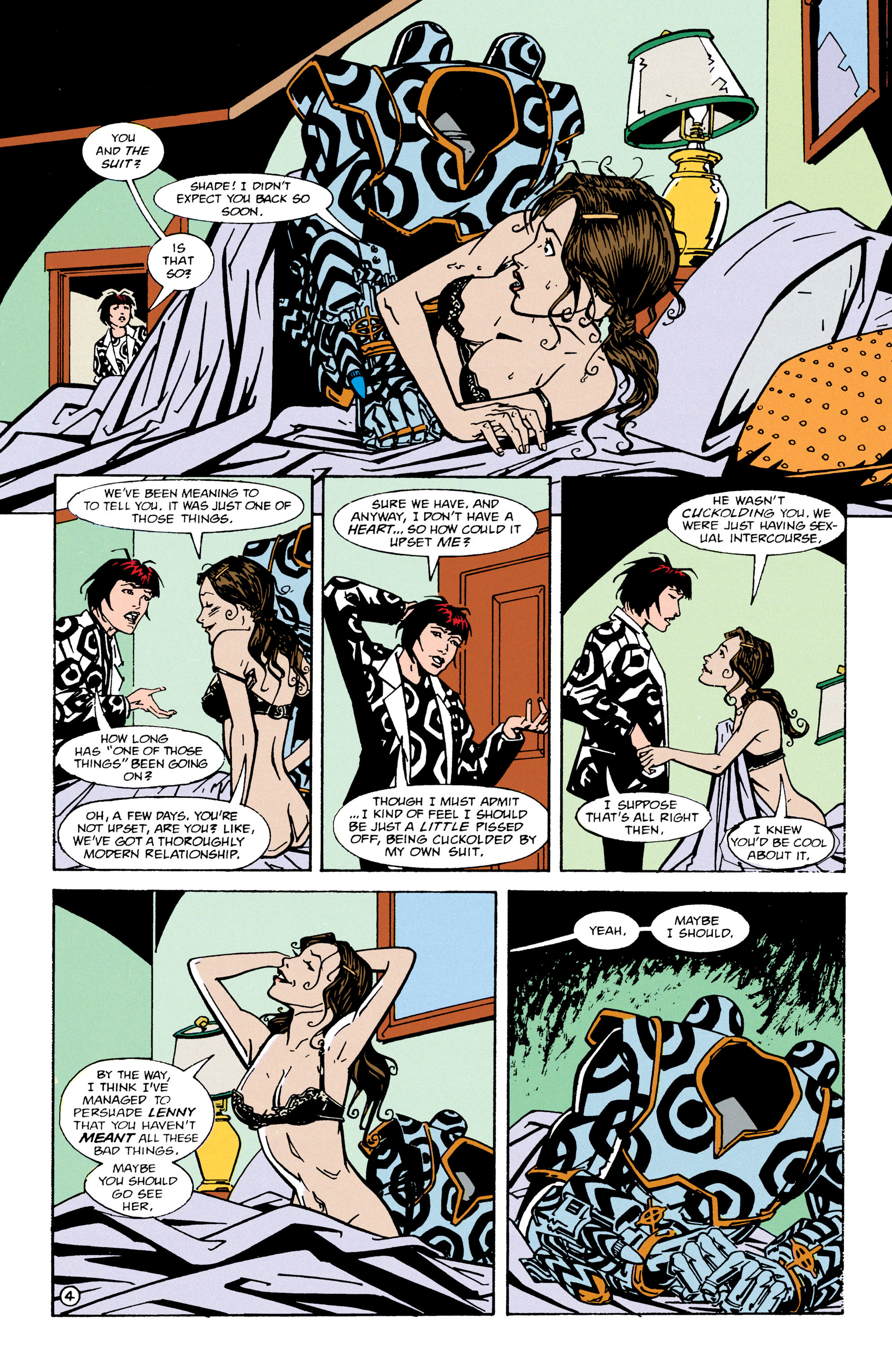 Read online Shade, the Changing Man comic -  Issue #66 - 5