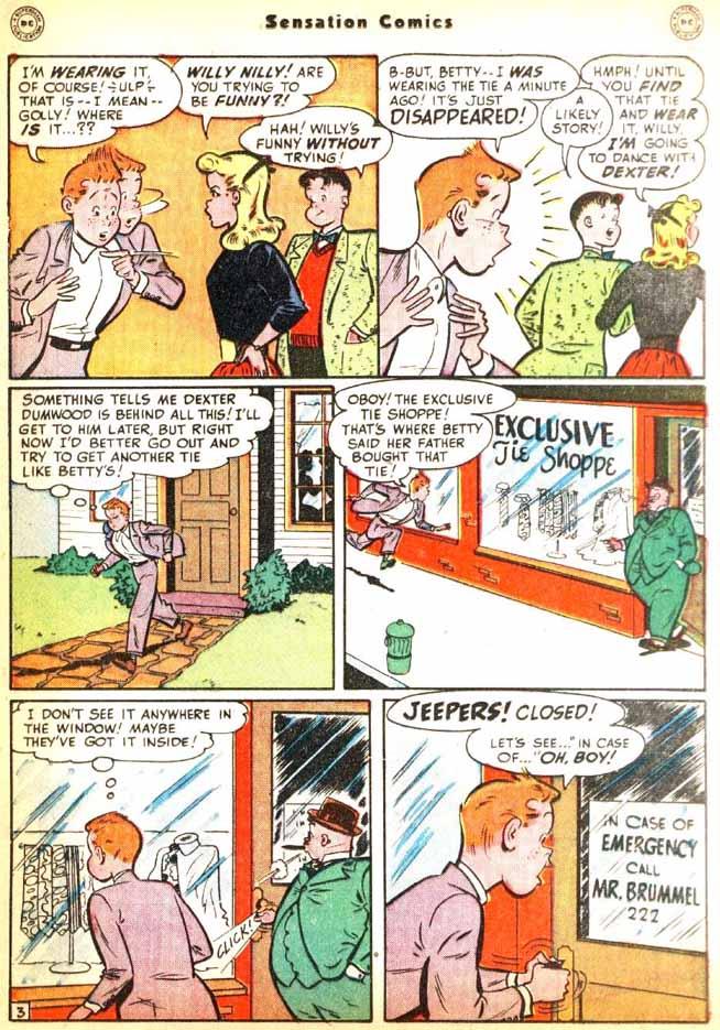 Read online Sensation (Mystery) Comics comic -  Issue #92 - 29