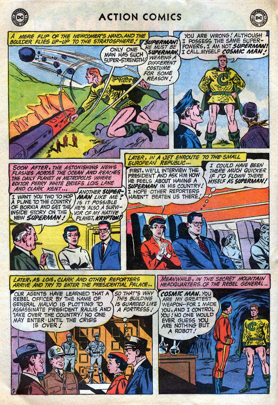 Read online Action Comics (1938) comic -  Issue #258 - 4