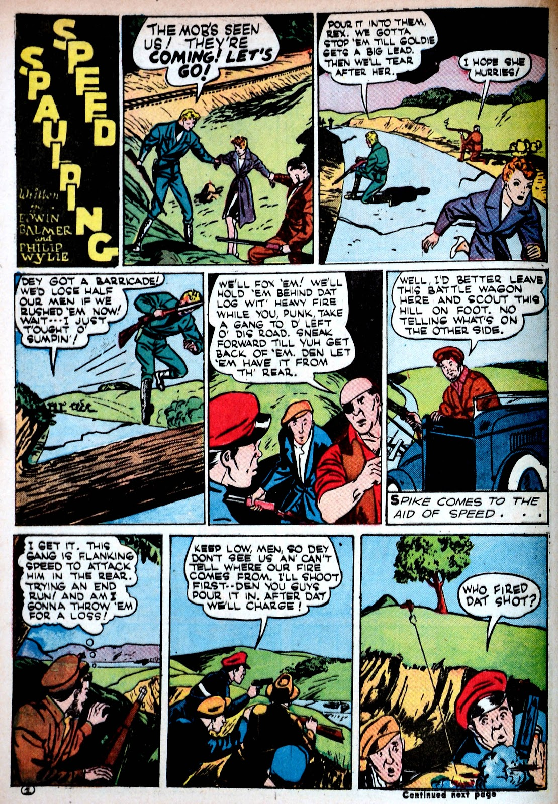 Read online Famous Funnies comic -  Issue #85 - 22