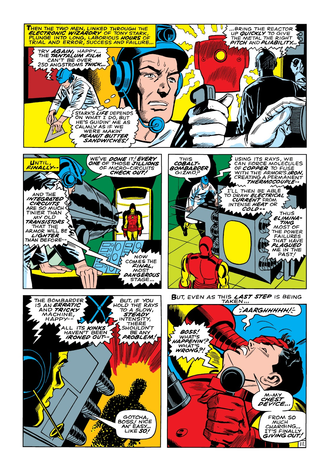 Read online Marvel Masterworks: The Invincible Iron Man comic -  Issue # TPB 5 (Part 1) - 39
