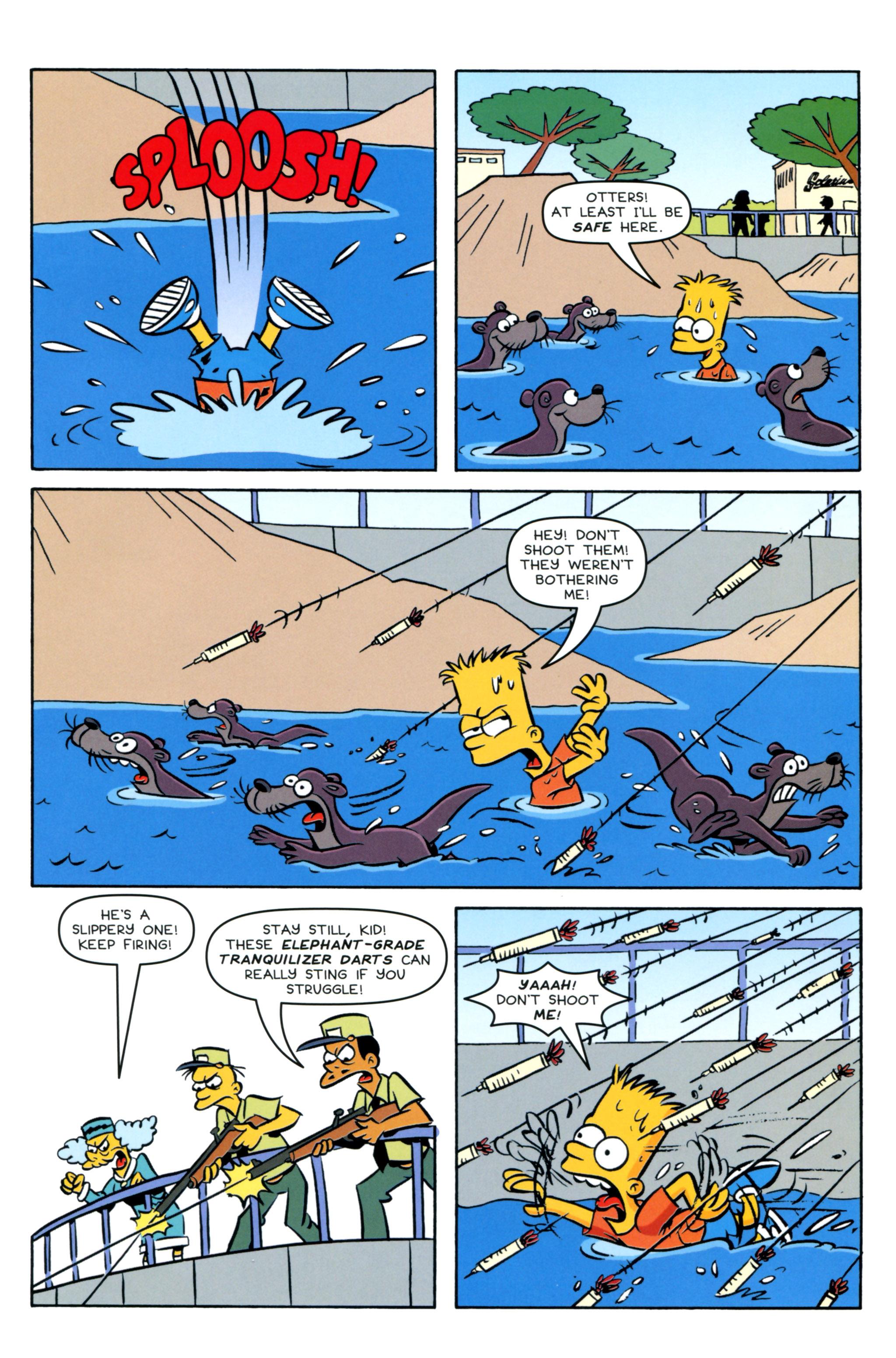Read online Simpsons Comics Presents Bart Simpson comic -  Issue #93 - 23
